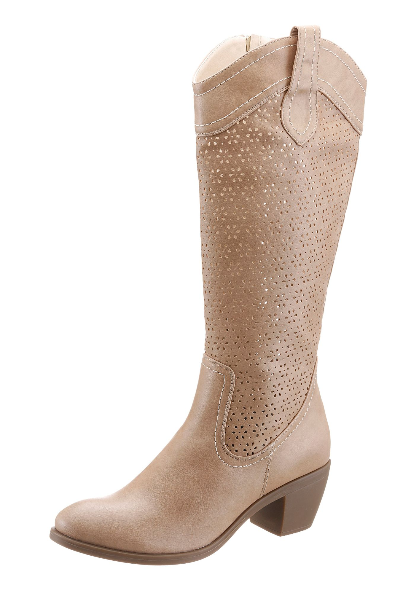 CITY WALK City Walk Sommerstiefel mit Cut Out Muster