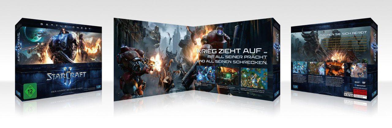 BLIZZARD Blizzard PC - Spiel »Starcraft 2 Battlechest«
