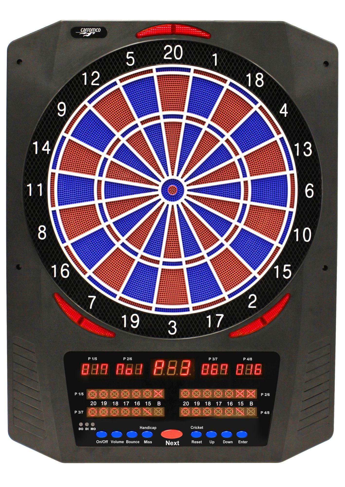 CARROMCO Carromco Elektronische Dartscheibe, »Dart Topaz-901«