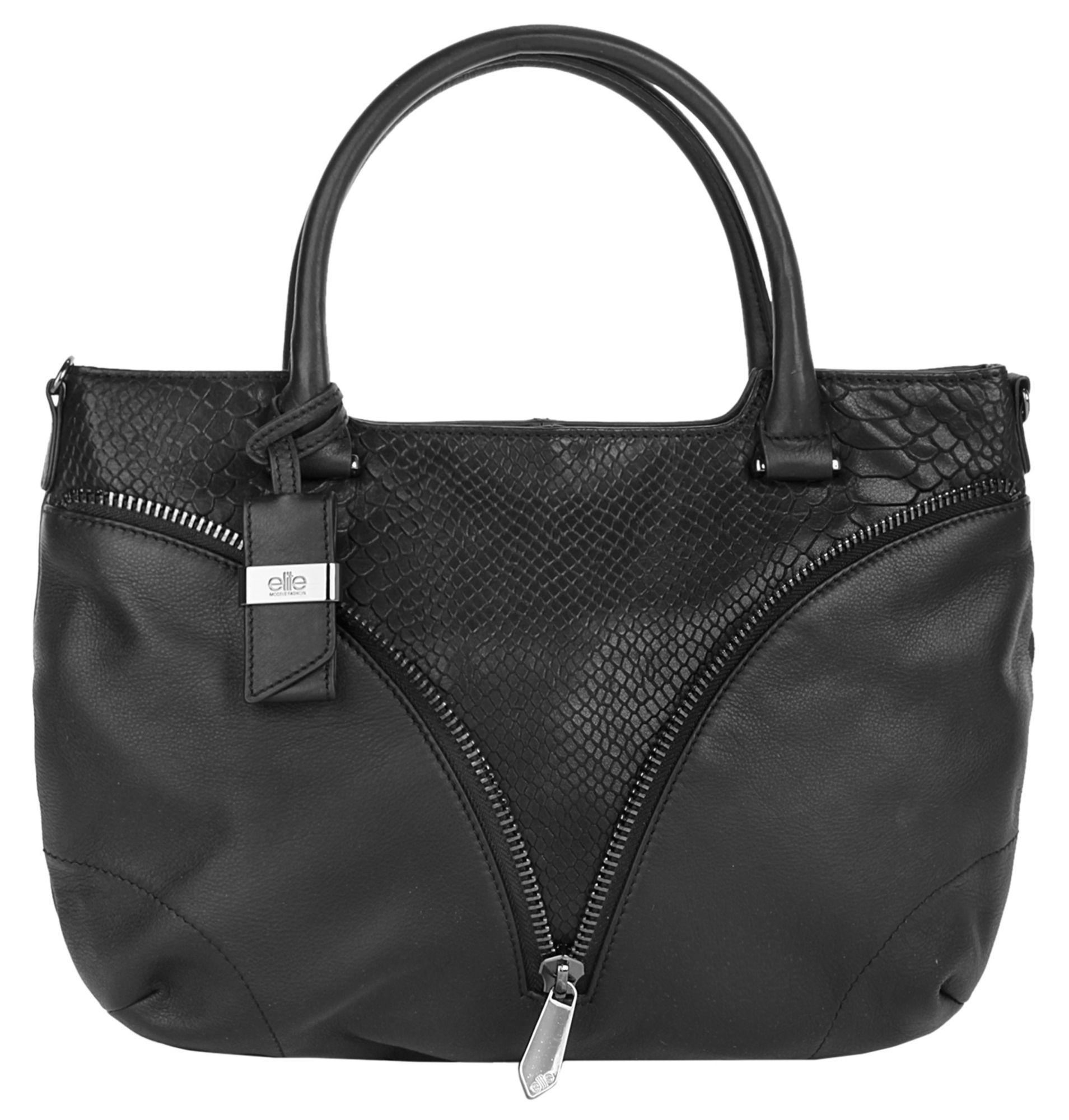 ELITE MODEN  Leder Damen Handtasche »Lois«