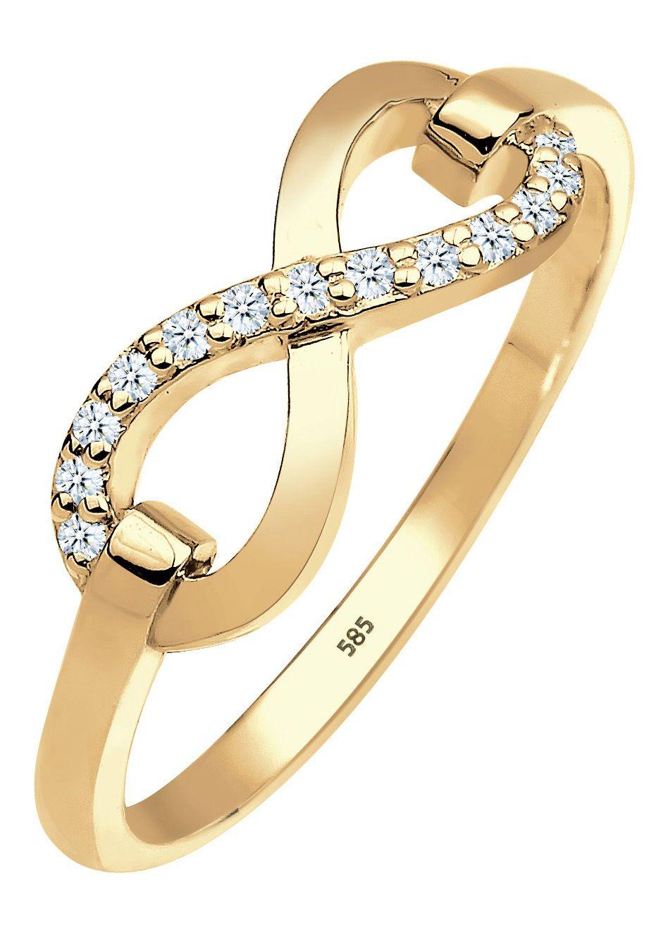 ELLI PREMIUM Elli Premium Ring, »0603822714, Julie«