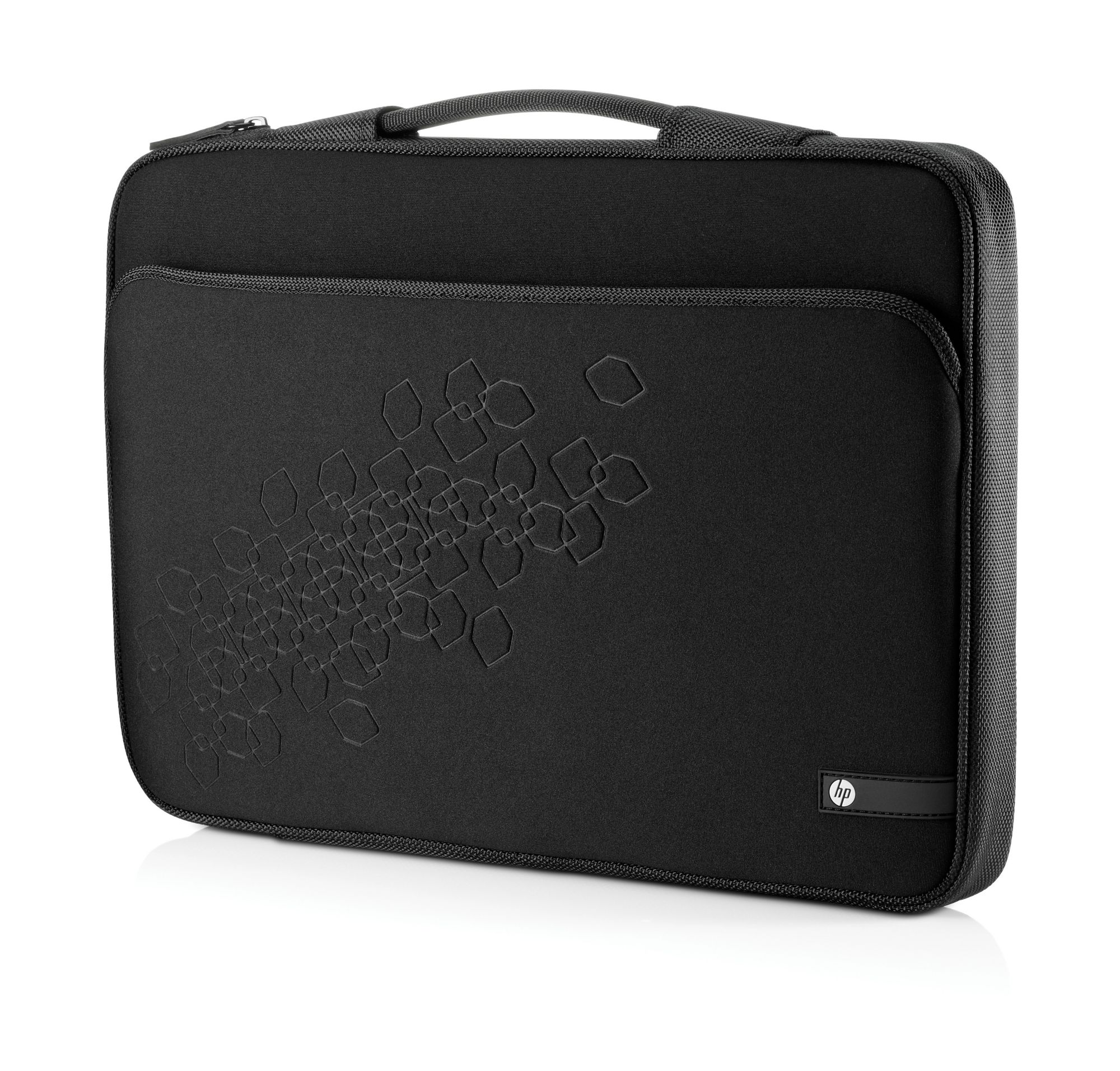"""HP  Notebook Sleeve - Notebook-Hülle - 43.9 cm ( 17.3"""" ) - Schwarz mit kirschfarbenen Akzenten - für Envy 14, DV6, DV7, ENVY TouchSmart 4, Envy x2, Min"""