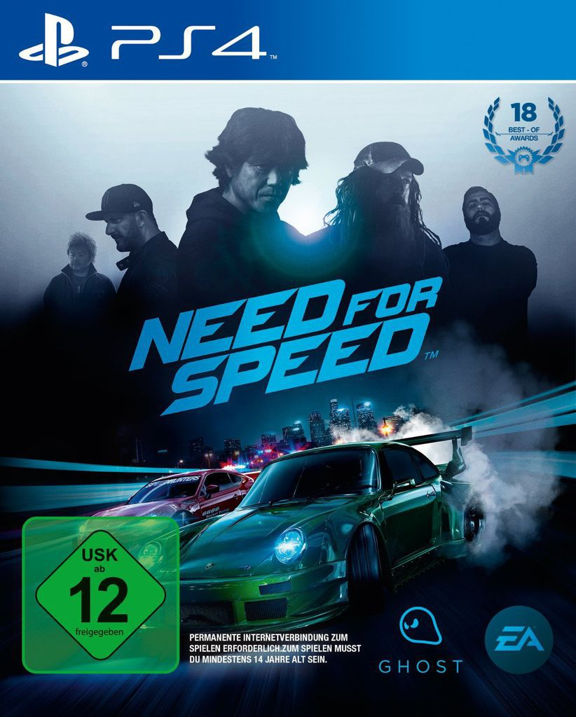 ELECTRONIC ARTS Electronic Arts Playstation 4 - Spiel »Need for Speed«