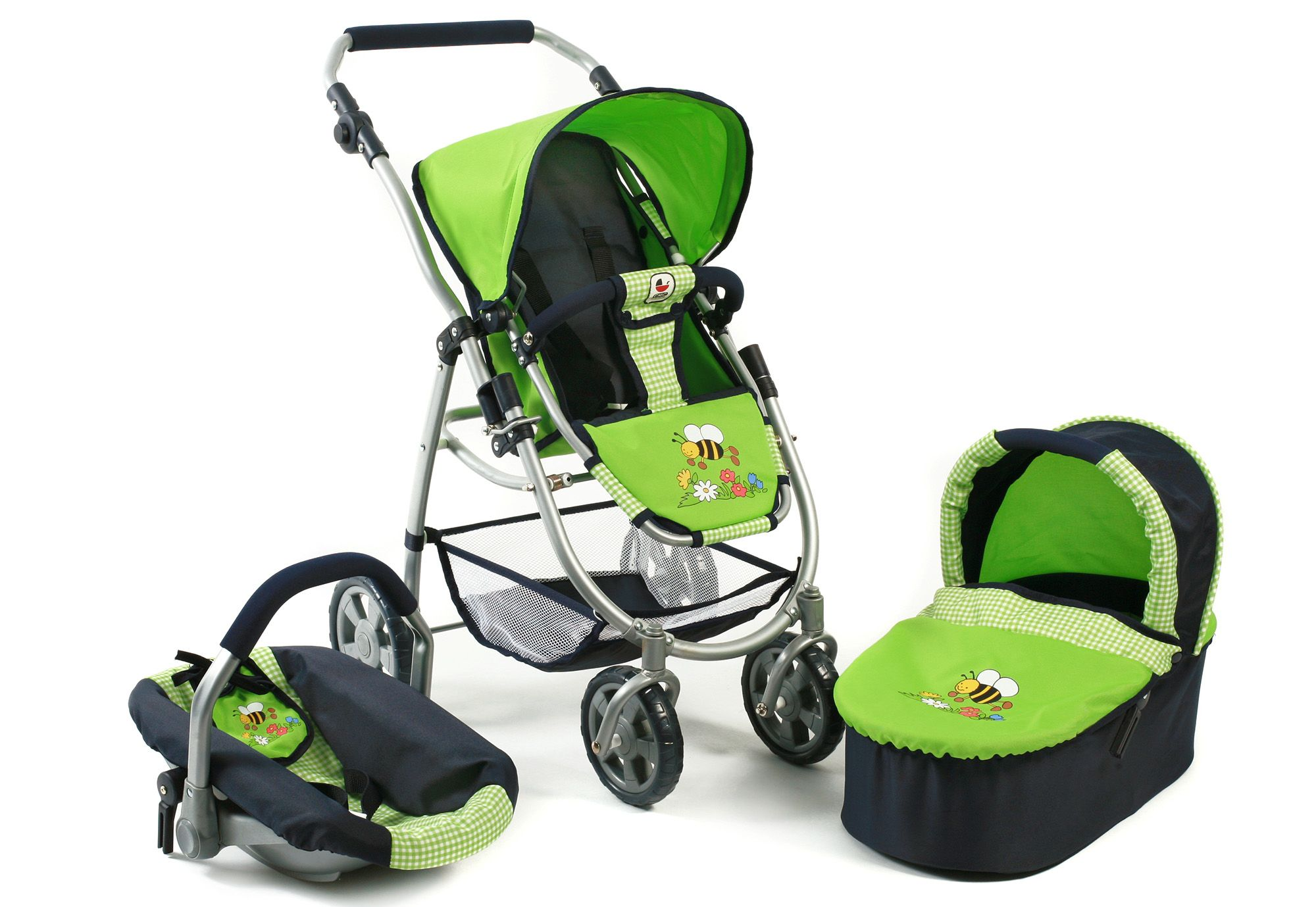 CHIC2000  3-in-1 Puppenwagen, »Emotion all in, Sommerwiese«