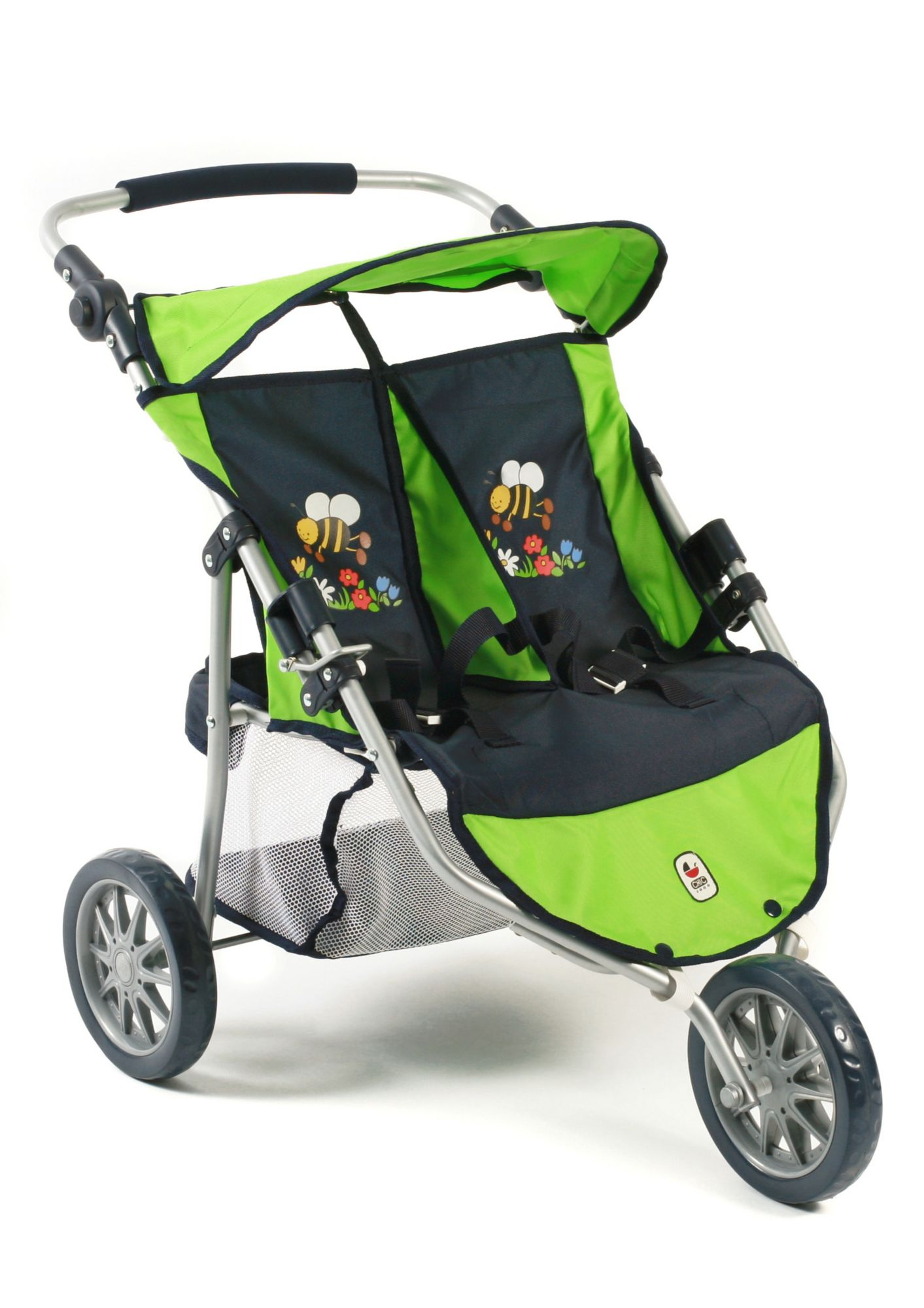 CHIC2000  3-Rad-Puppen-Buggy, »Zwillings-Jogger, Bumblebee«