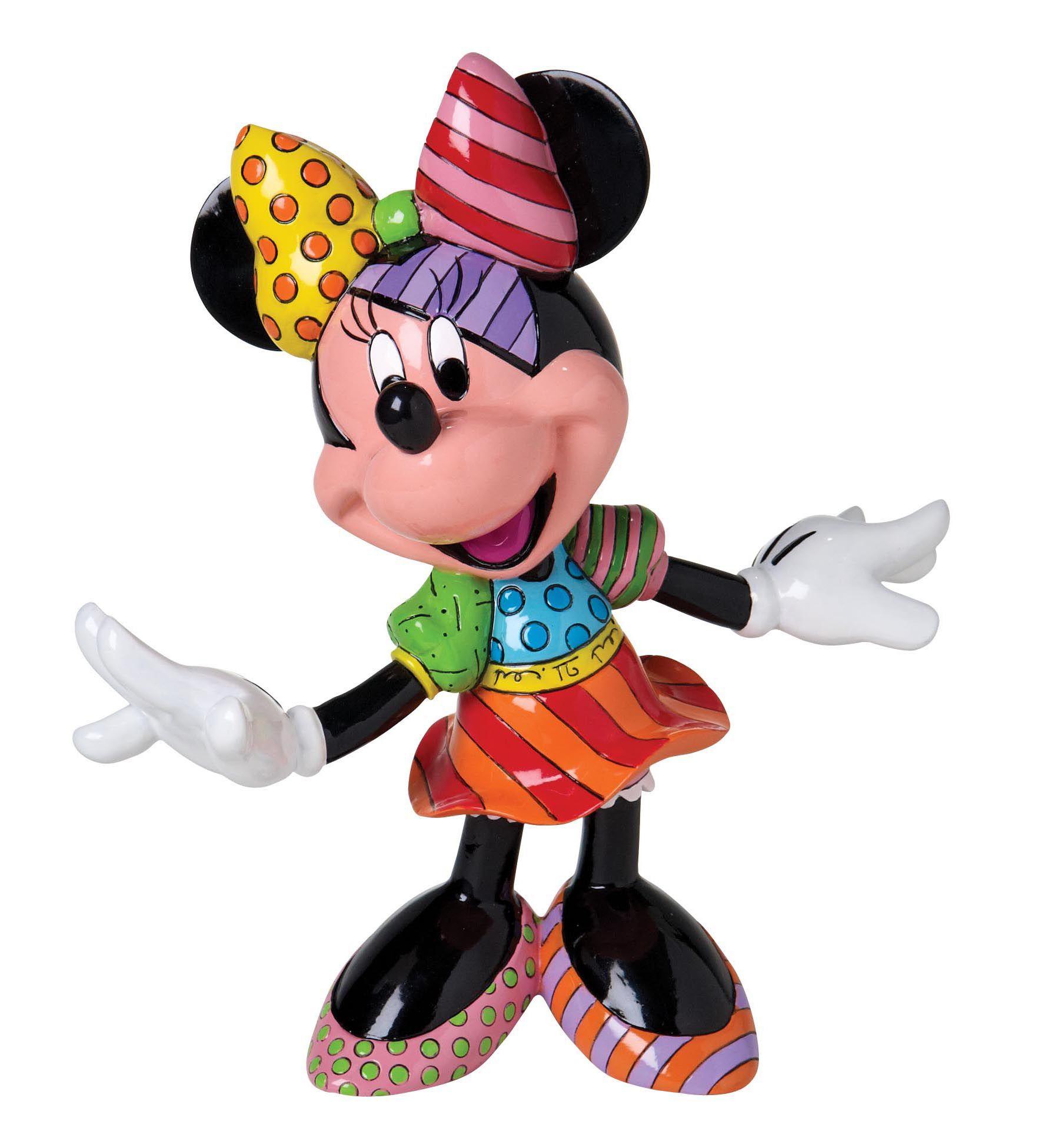 DISNEY BY BRITTO Disney by Britto Figur PopArt, »Minnie Mouse«