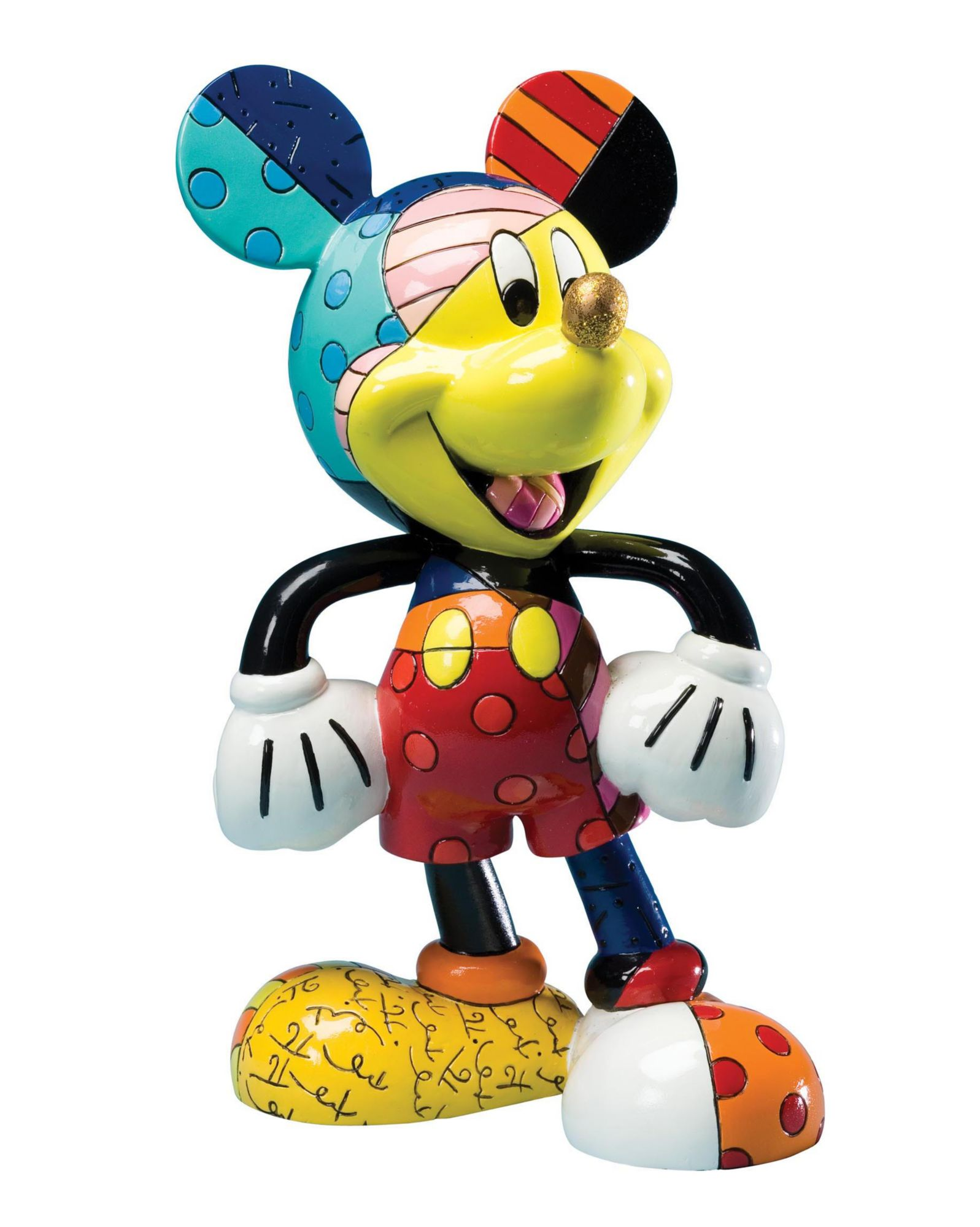 DISNEY BY BRITTO Disney by Britto Figur PopArt, »Mickey Mouse«
