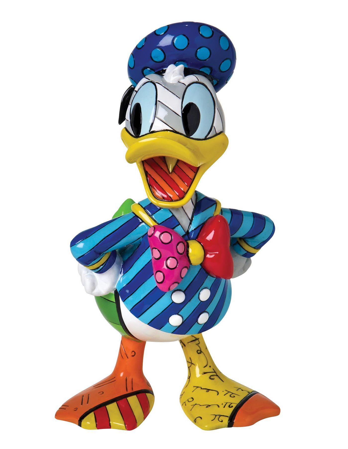 DISNEY BY BRITTO Disney by Britto Figur PopArt, »Donald Duck«