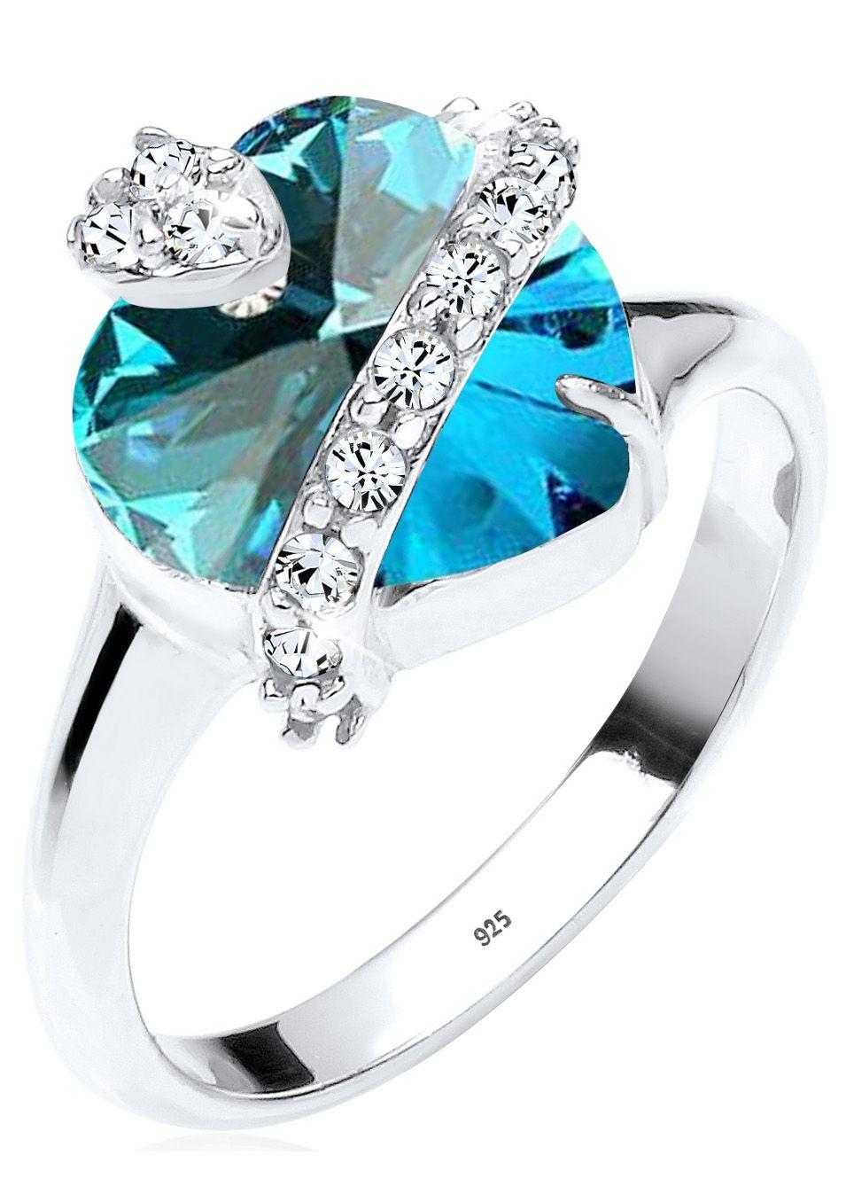 ELLI Elli Ring mit Swarovski® Kristallen, »Victoria, 0602470113«