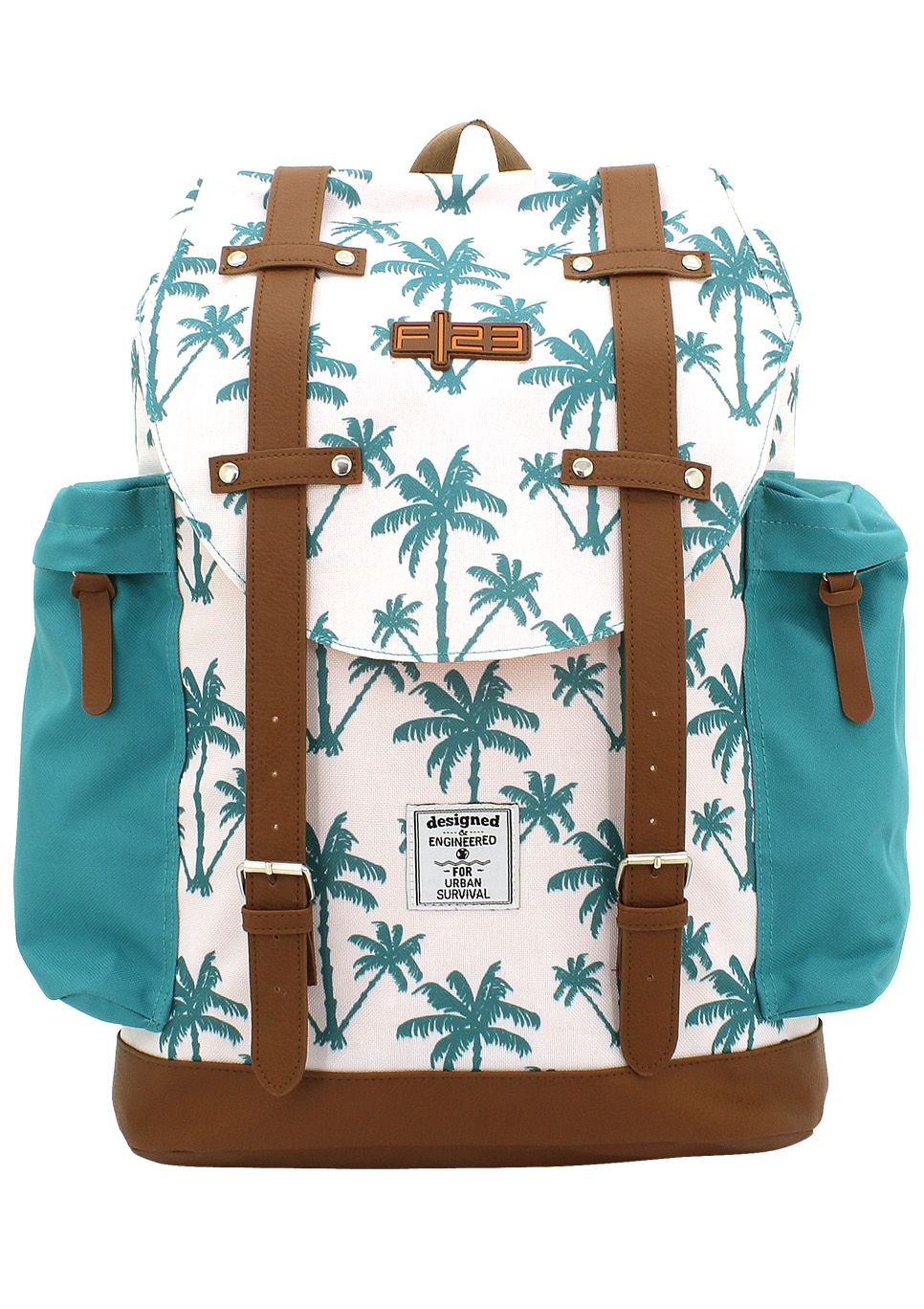 F23 ?, Rucksack mit gepolstertem Laptopfach, »Palm«
