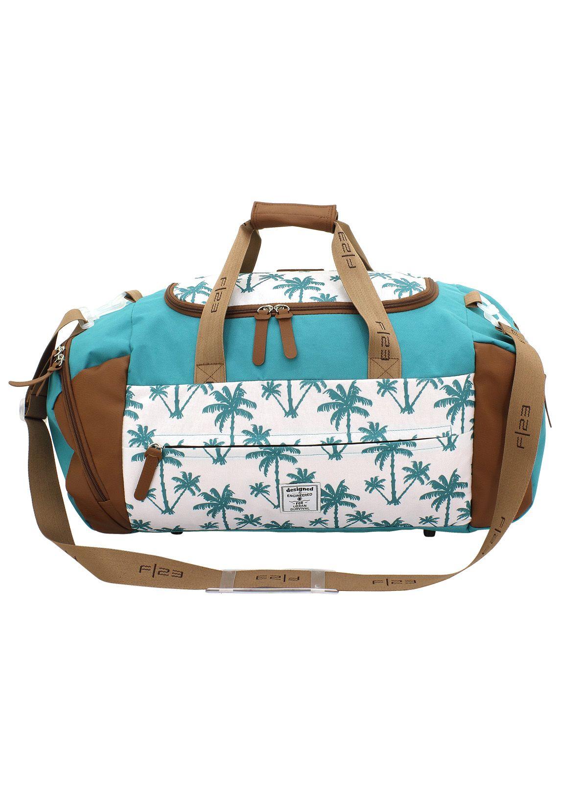 F23 ?, Reisetasche mit Nassfach, »Palm«
