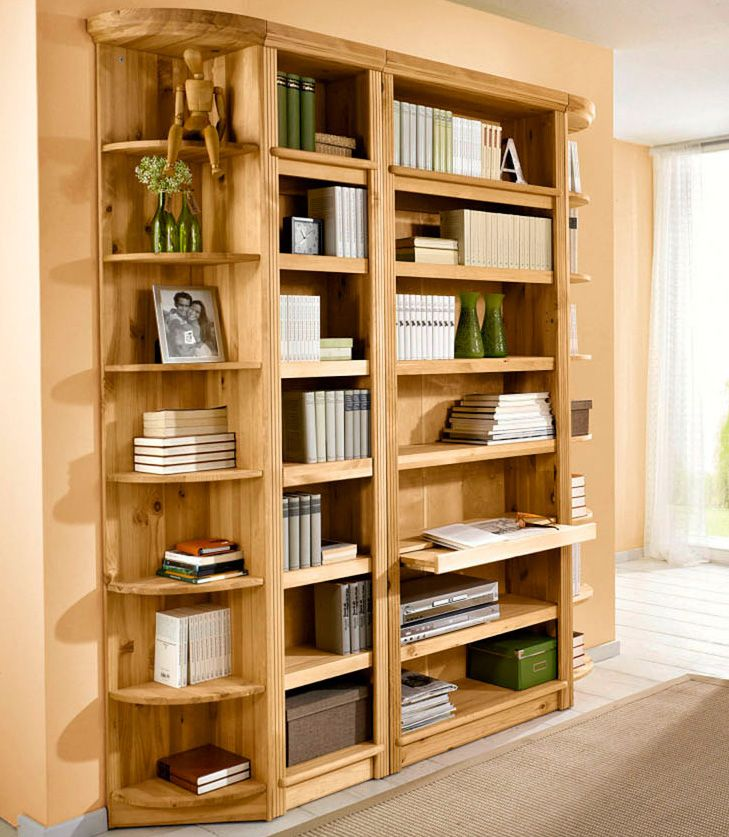 HOME AFFAIRE Bücherregal, Home affaire, »Soeren«, in 2 Höhen und 2 Tiefen
