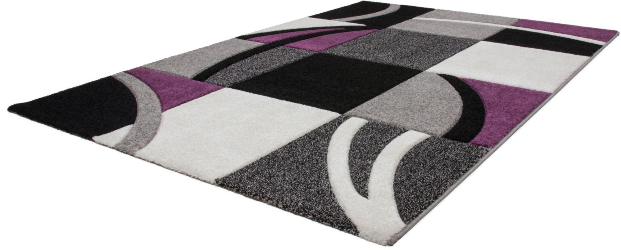Teppich, »Havanna 421«, Lalee, rechteckig, Höhe 15 mm, maschinell gewebt