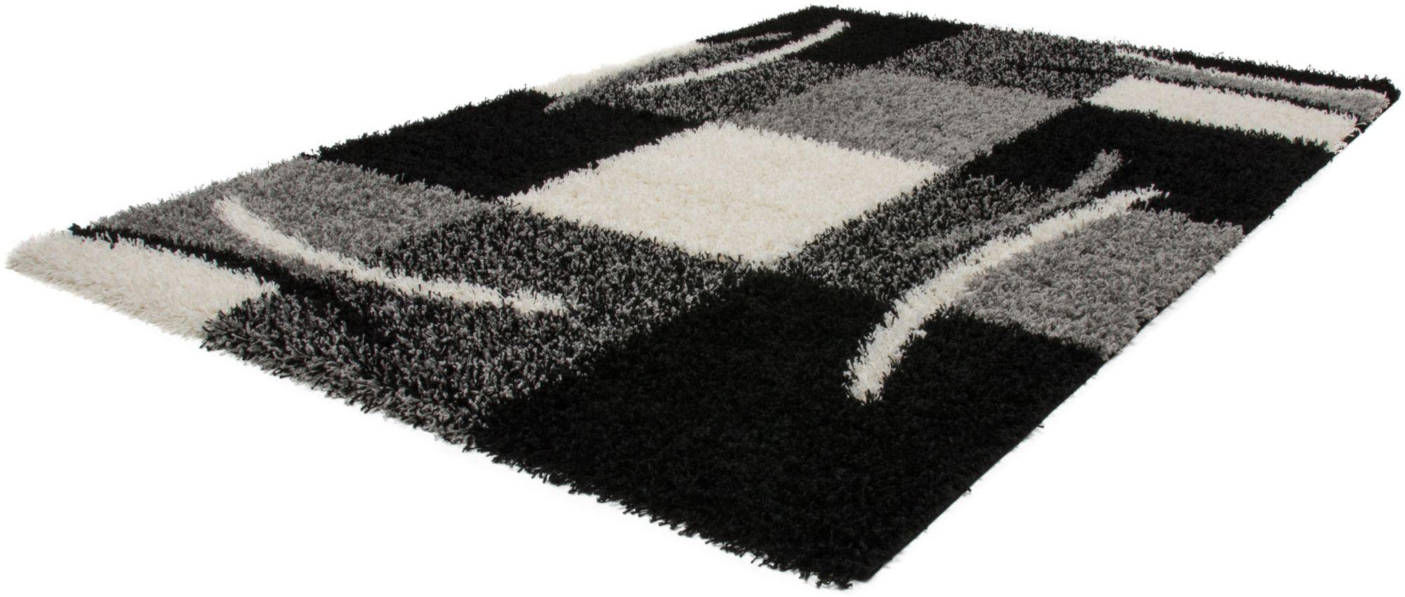 Hochflor-Teppich, »Joy 120«, Lalee, rechteckig, Höhe 50 mm, maschinell gewebt
