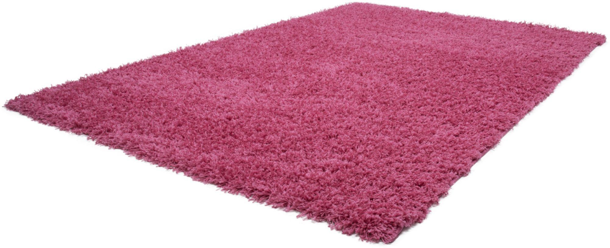Hochflor-Teppich, »Relax«, Lalee, rechteckig, Höhe 45 mm, maschinell gewebt