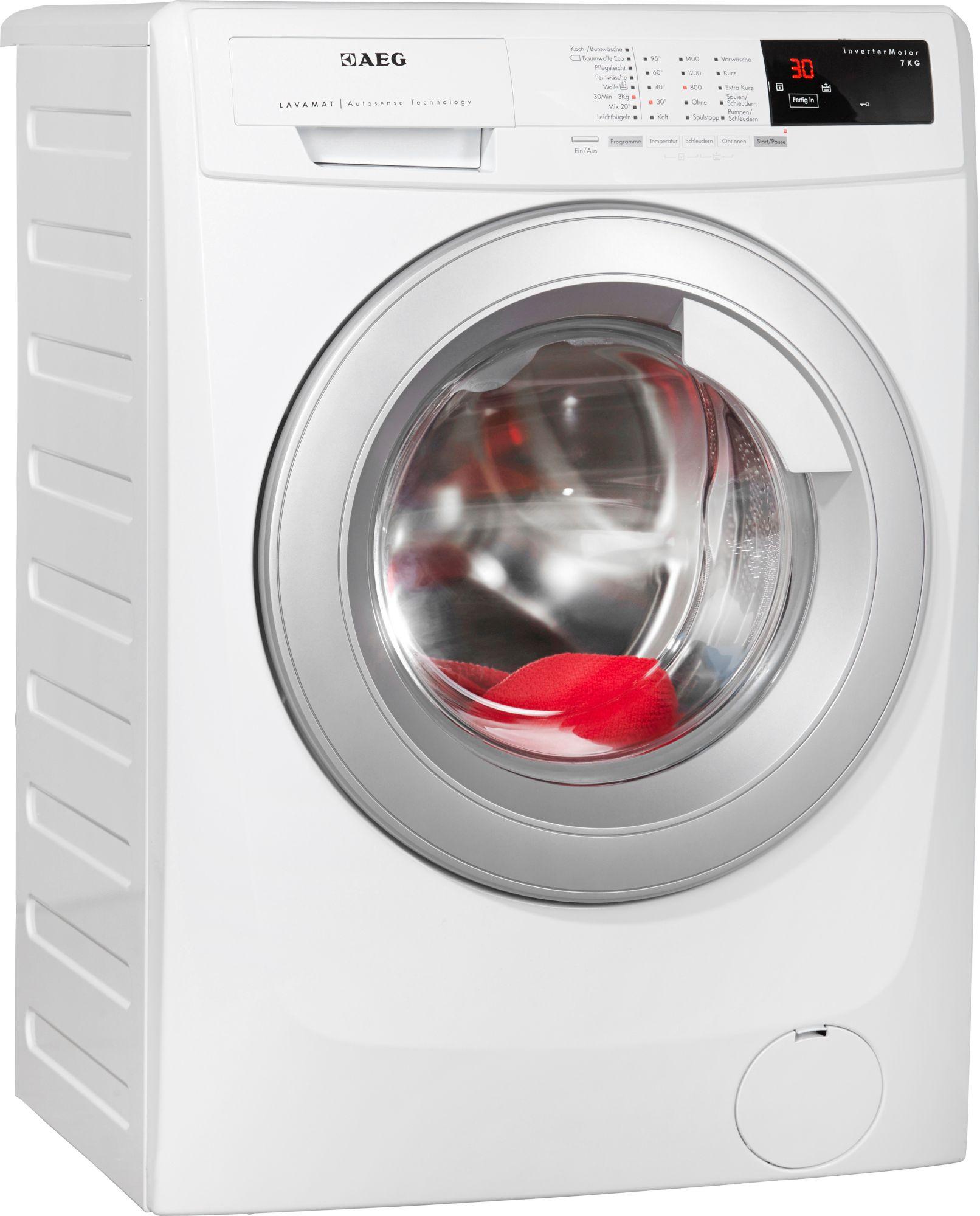 AEG ELECTROLUX AEG Waschmaschine LAVAMAT L14AS7, A+++, 7 kg, 1400 U/Min
