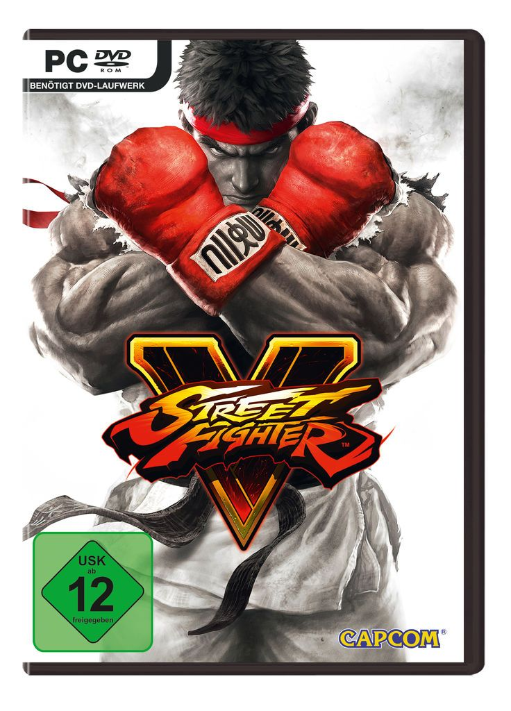 CAPCOM Capcom PC - Spiel »Street Fighter V«