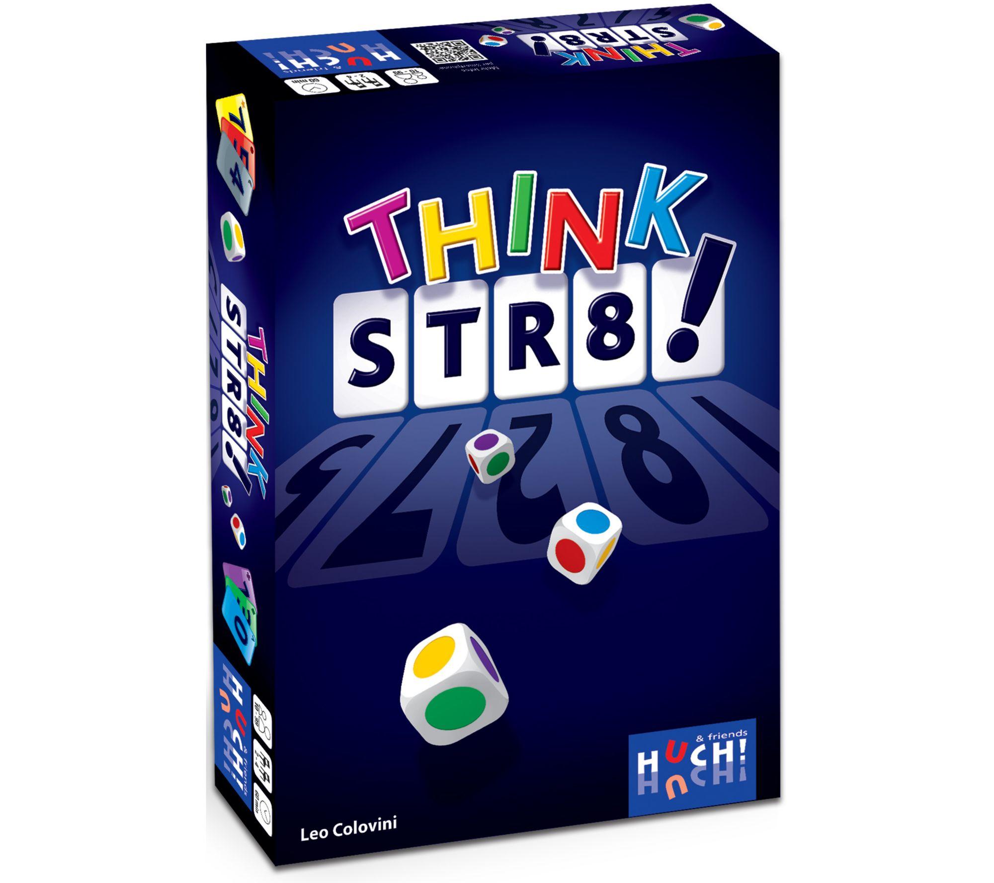HUCH FRIENDS Huch! & friends Familienspiel, »Think Str8«