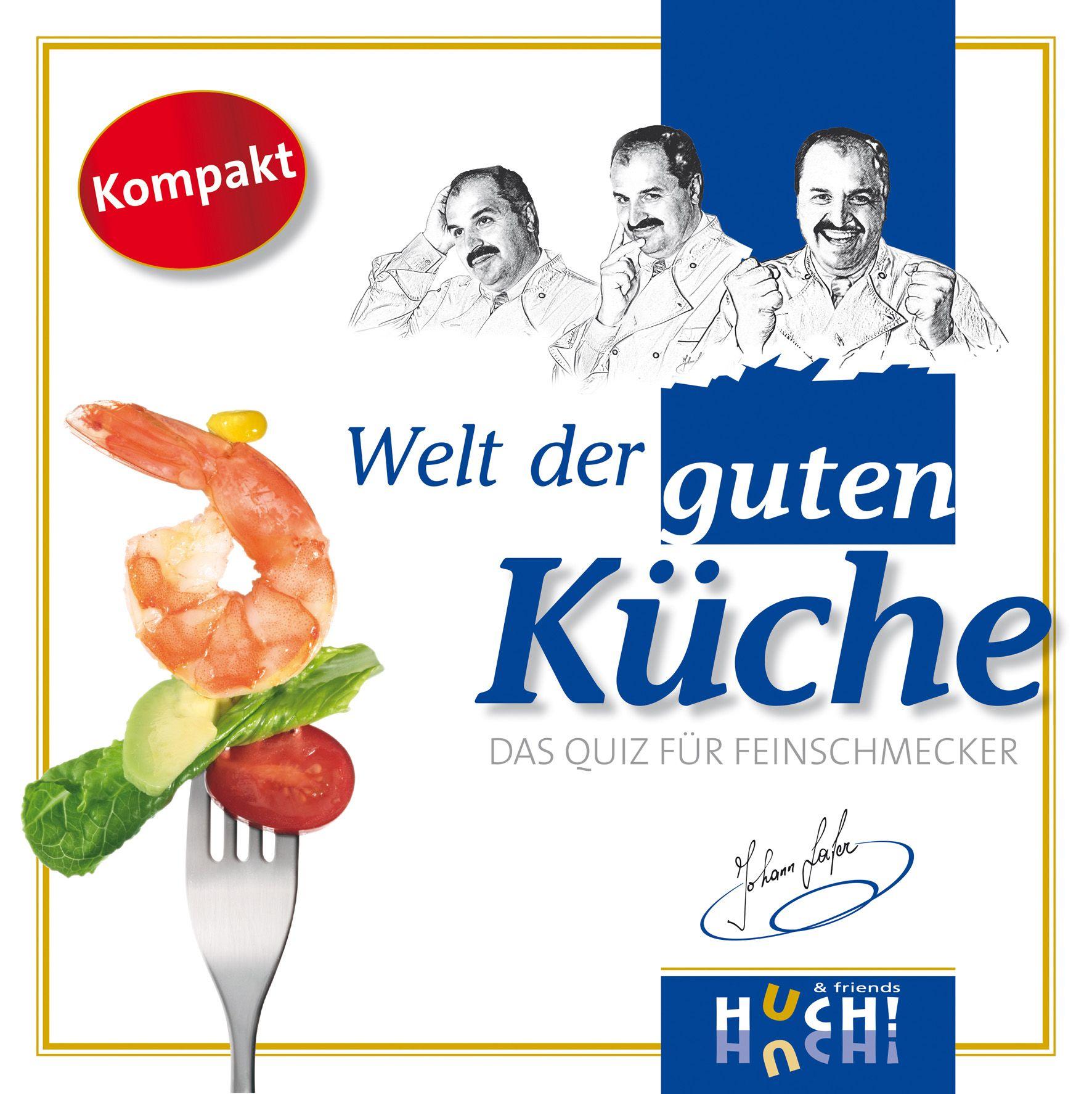 HUCH FRIENDS Huch! & friends Quizspiel, »Welt der guten Küche kompakt«