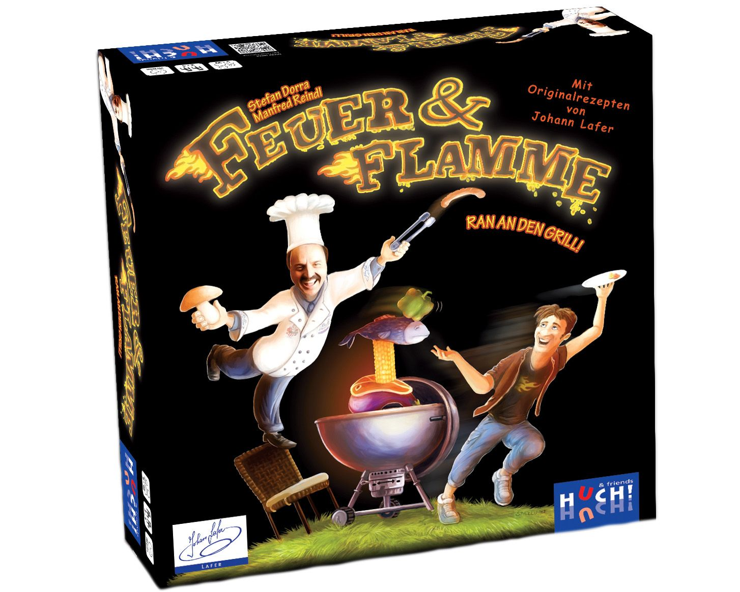 HUCH FRIENDS Huch! & friends Familienspiel, »Feuer + Flamme«