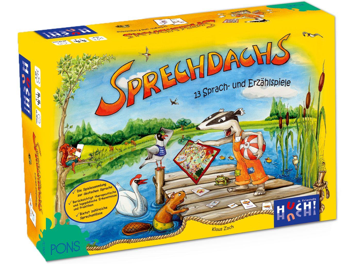 HUCH FRIENDS Huch! & friends Kinderspiel, »Sprechdachs«
