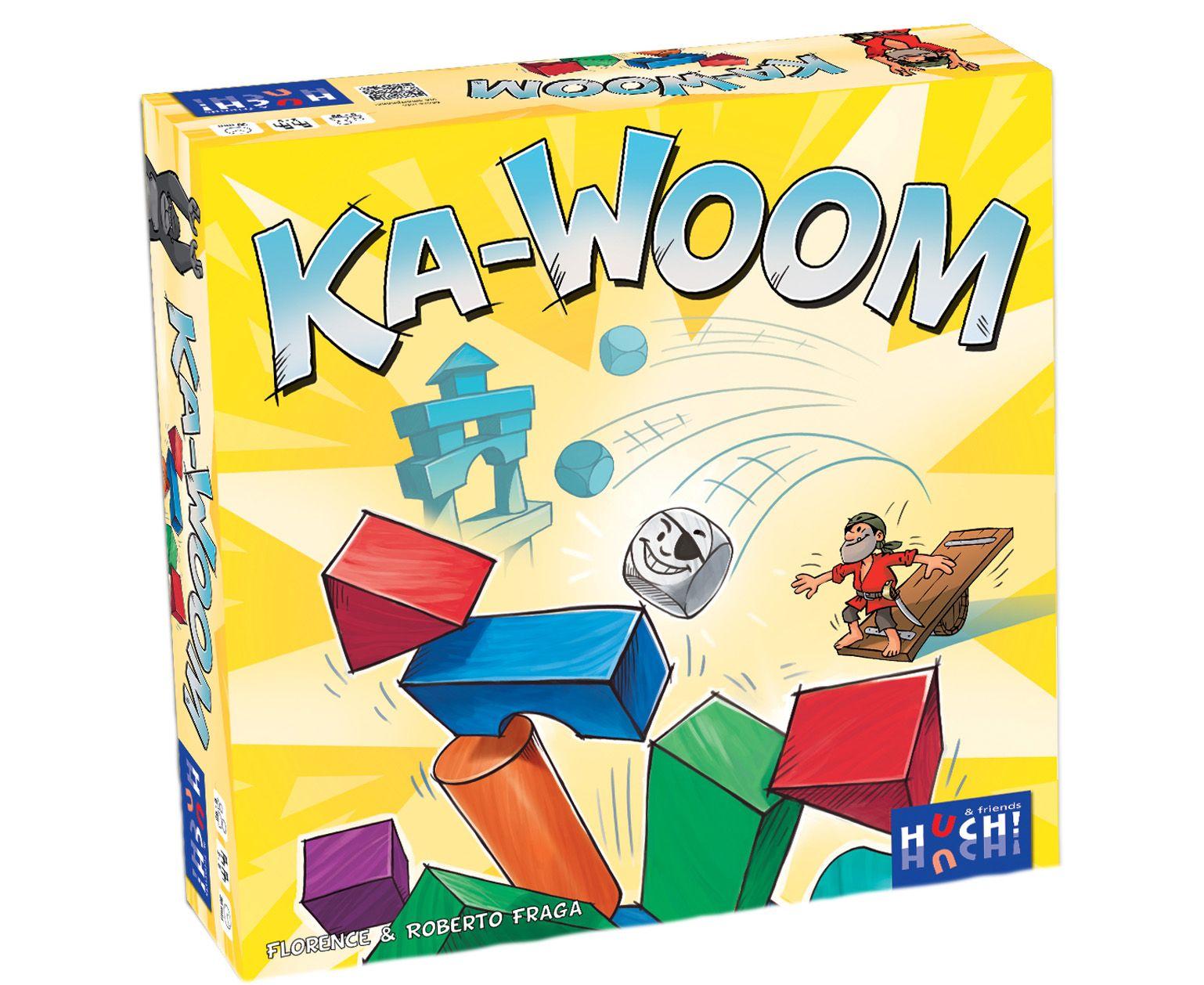 HUCH FRIENDS Huch! & friends Familienspiel, »Ka-Woom«