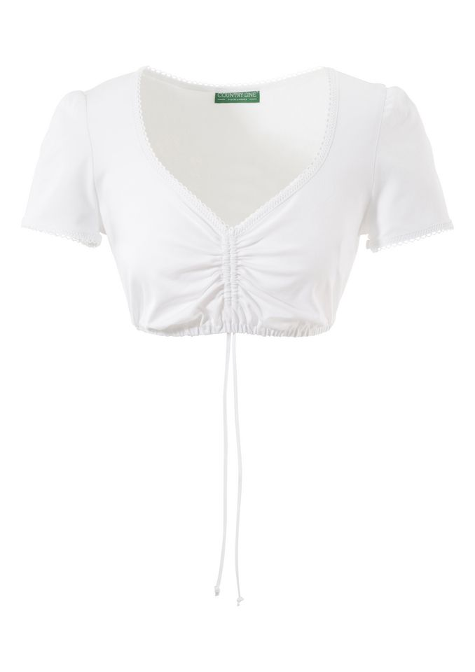 COUNTRY LINE Dirndlbluse mit zarter Spitze, Country Line