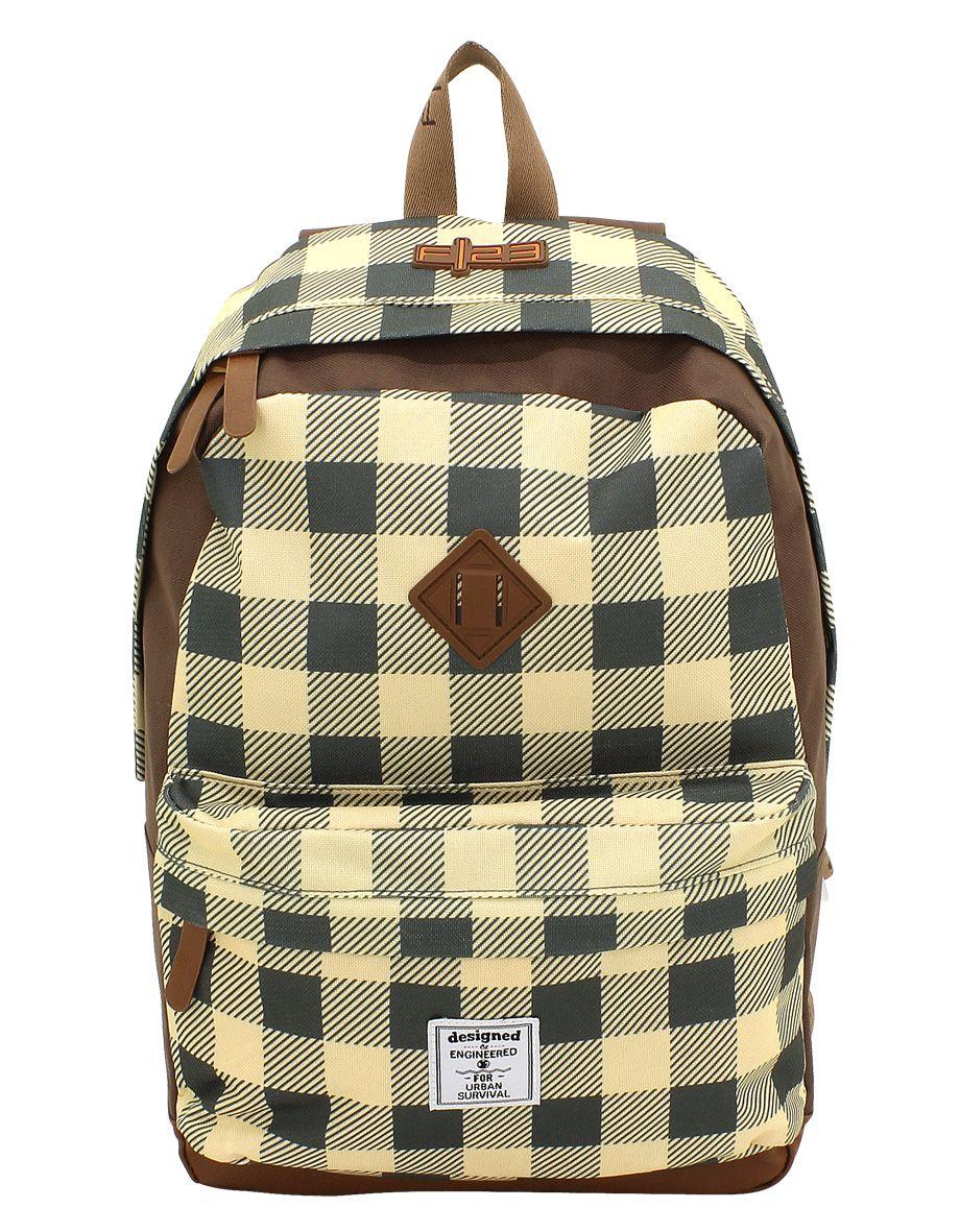 F23 ?, Rucksack mit Laptop- und Tabletfach, »Daypack Check«