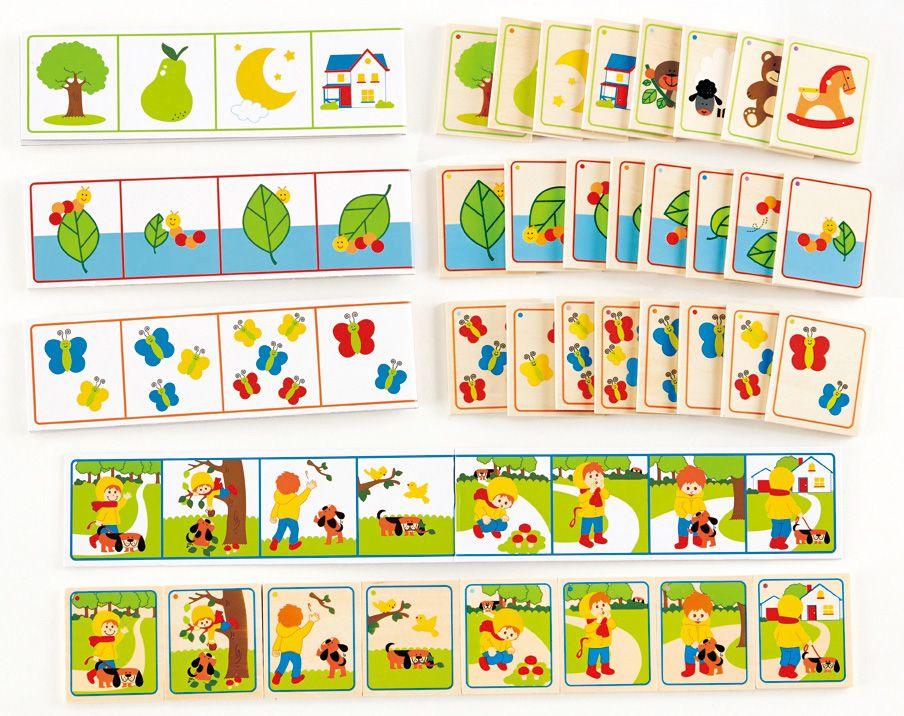 HAPE Hape Kartenspiel, »Geschichten-Reihenfolge« (36-tlg.)