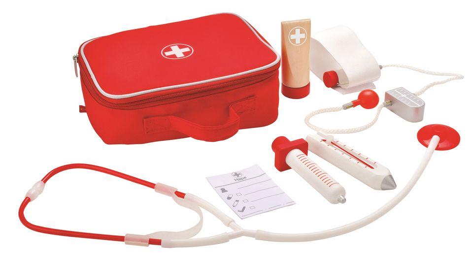 HAPE Hape Arztkoffer für Kinder »Doktorkoffer« 7-tlg.