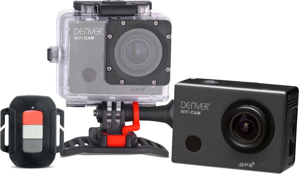 DENVER Denver ACG-8050W Actioncam mit WiFi, GPS und FullHD