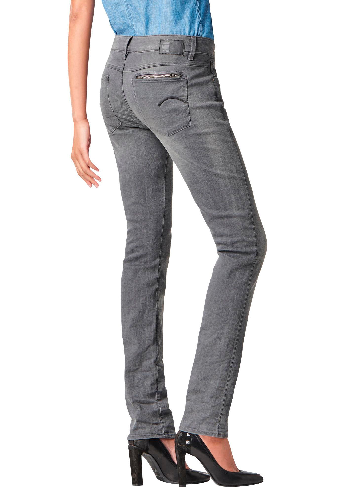 G STAR G-Star Gerade Jeans »Attacc Mid-Rise Straight«