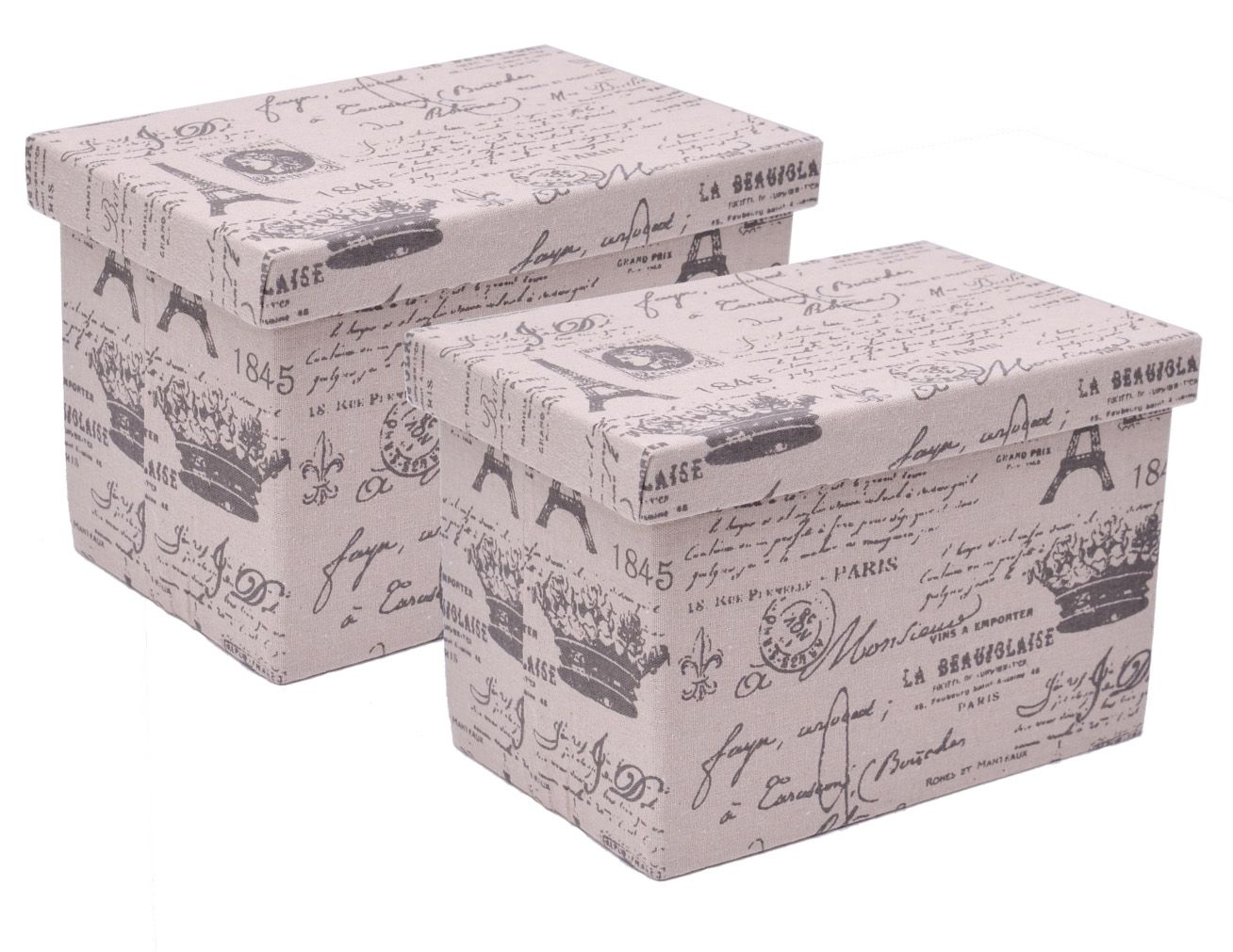 FRANZ MÜLLER FLECHTWAREN Franz Müller Flechtwaren Aufbewahrungsboxen (2tlg.), rechteckig
