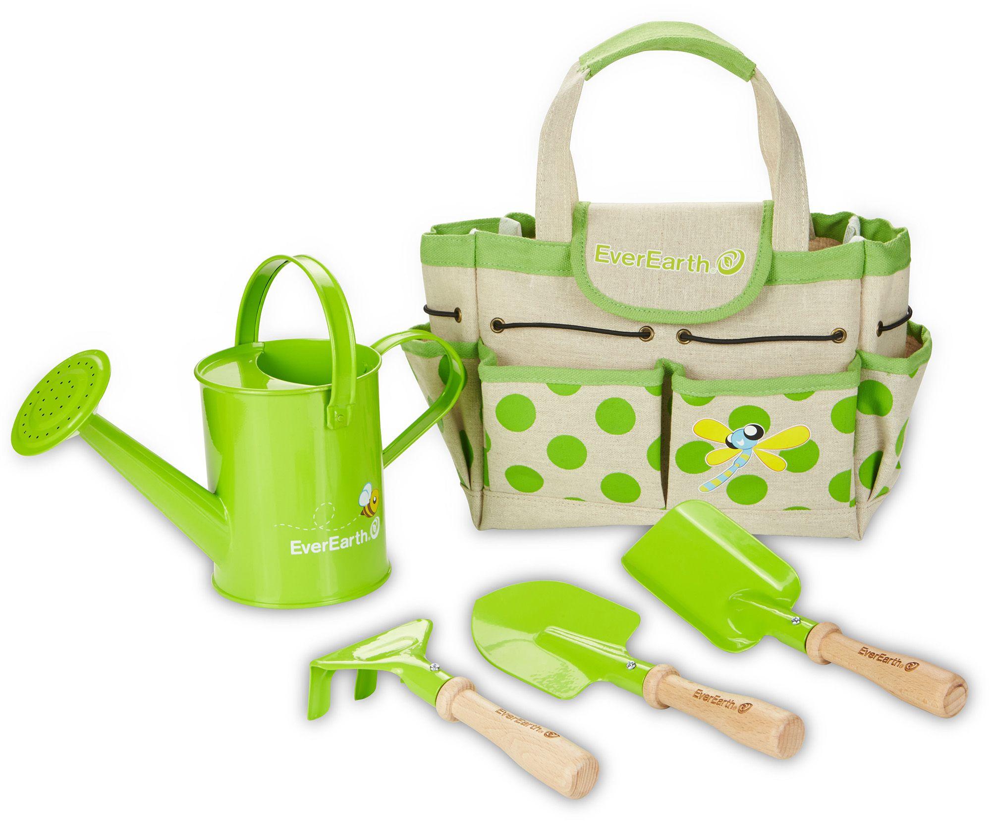 EVEREARTH EverEarth® 5-tlg. Gartenset für Kinder, »Gartenbeutel mit Geräten«