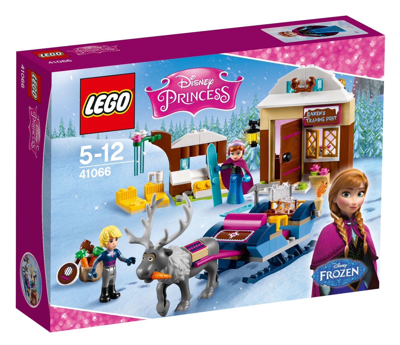 LEGO® 41066 Disney Princess Annas und Kristoffs Schlittenabenteuer, Konstruktionsspielzeug