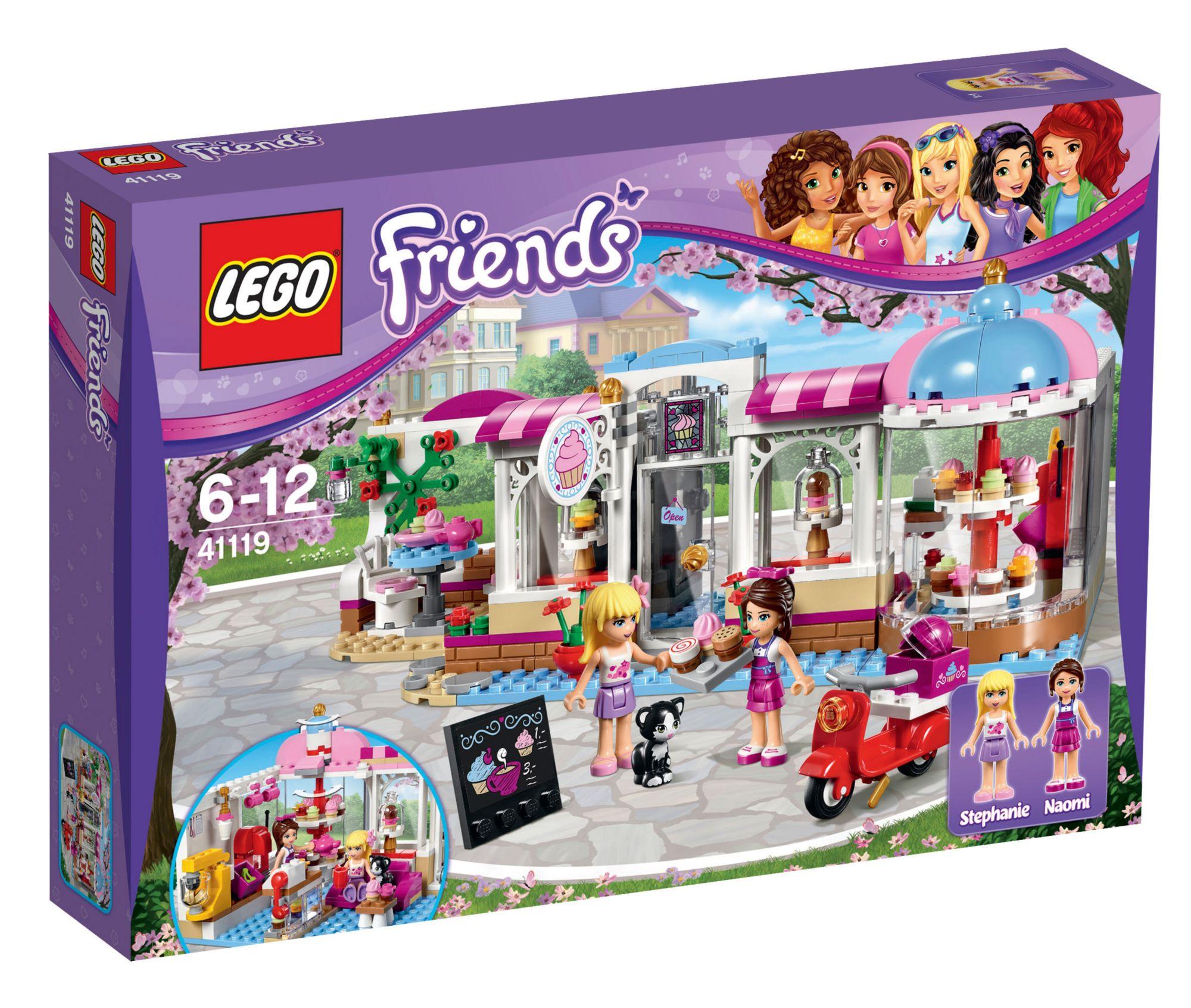 LEGO® 41119 Friends Heartlake Cupcake-Cafe, Konstruktionsspielzeug
