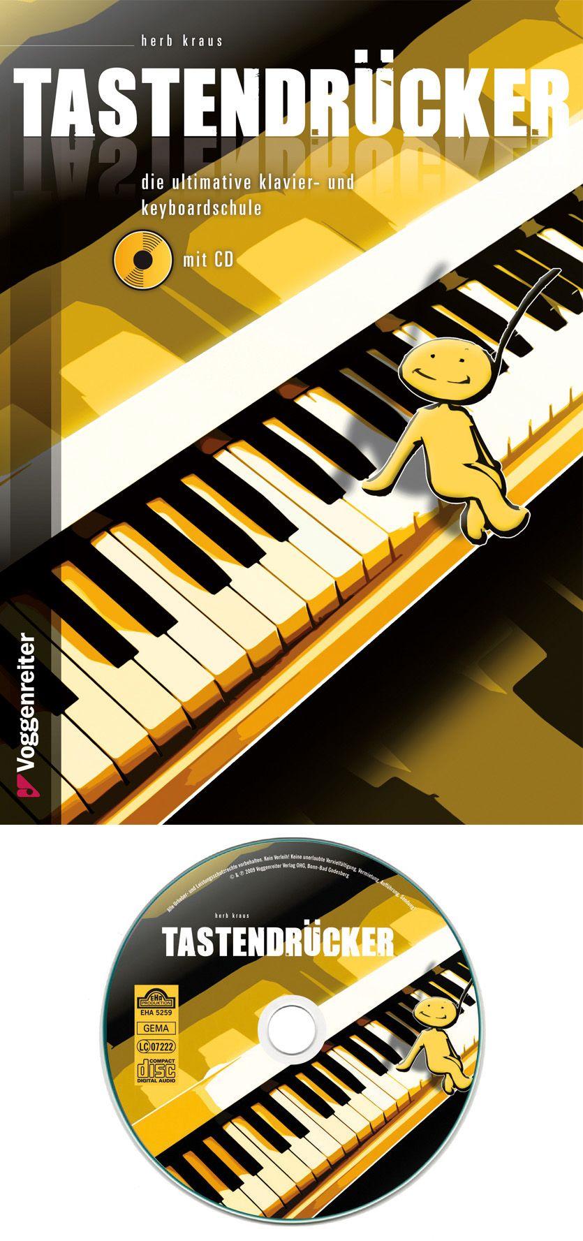 VOGGENREITER Voggenreiter Klavier und Keyboard Lehrbuch, »Tastendrücker«