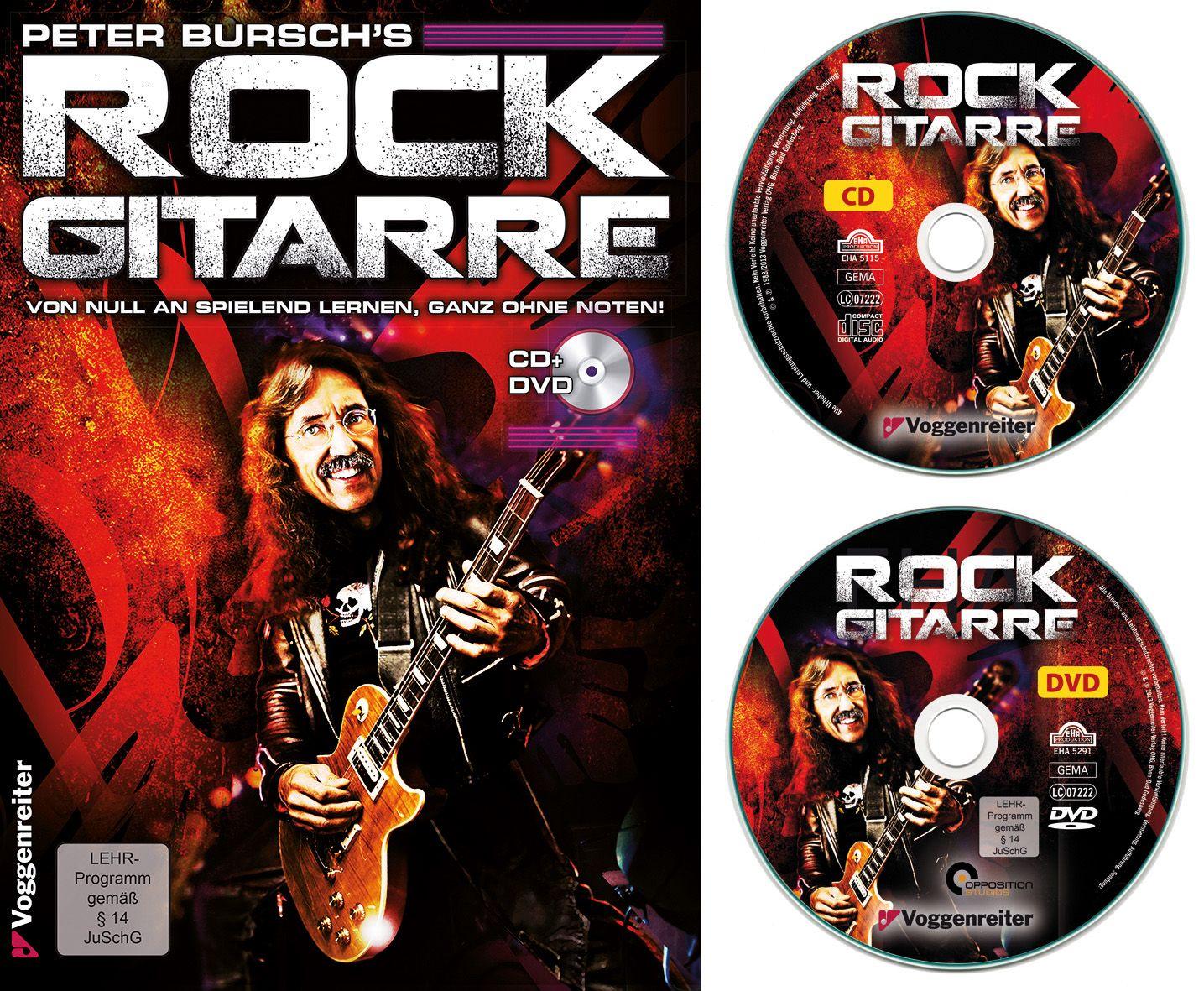 VOGGENREITER Voggenreiter Rock-Gitarre Lehrbuch, »Peter Bursch´s Rock Gitarre«