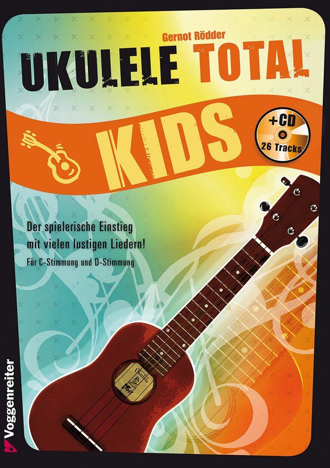 VOGGENREITER Voggenreiter Ukulele Lernbuch, »Ukulele Total Kids«