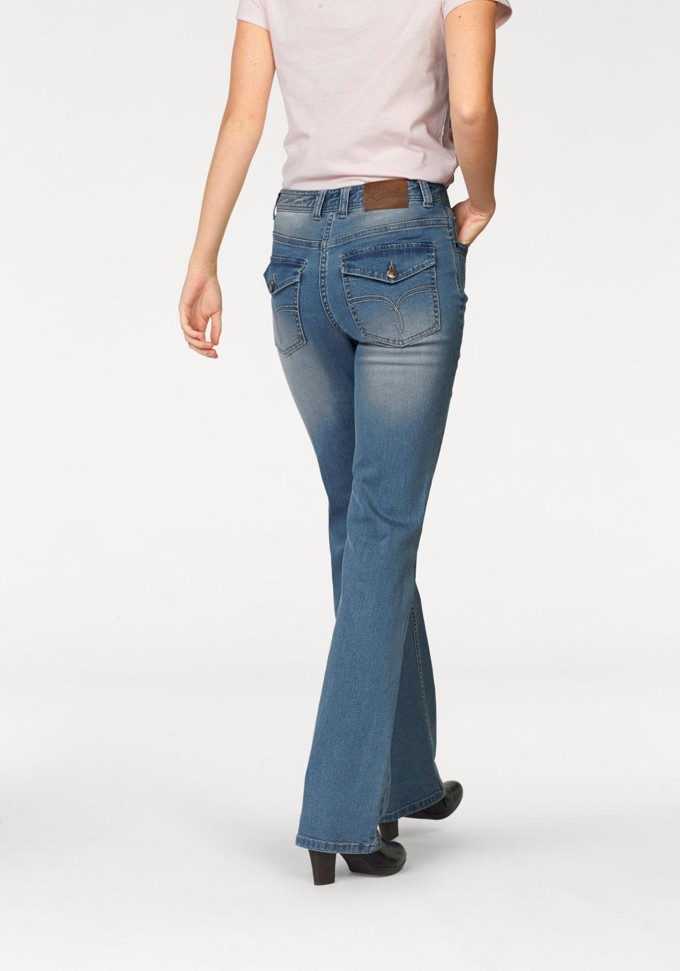 CHEER Cheer Bootcut-Jeans