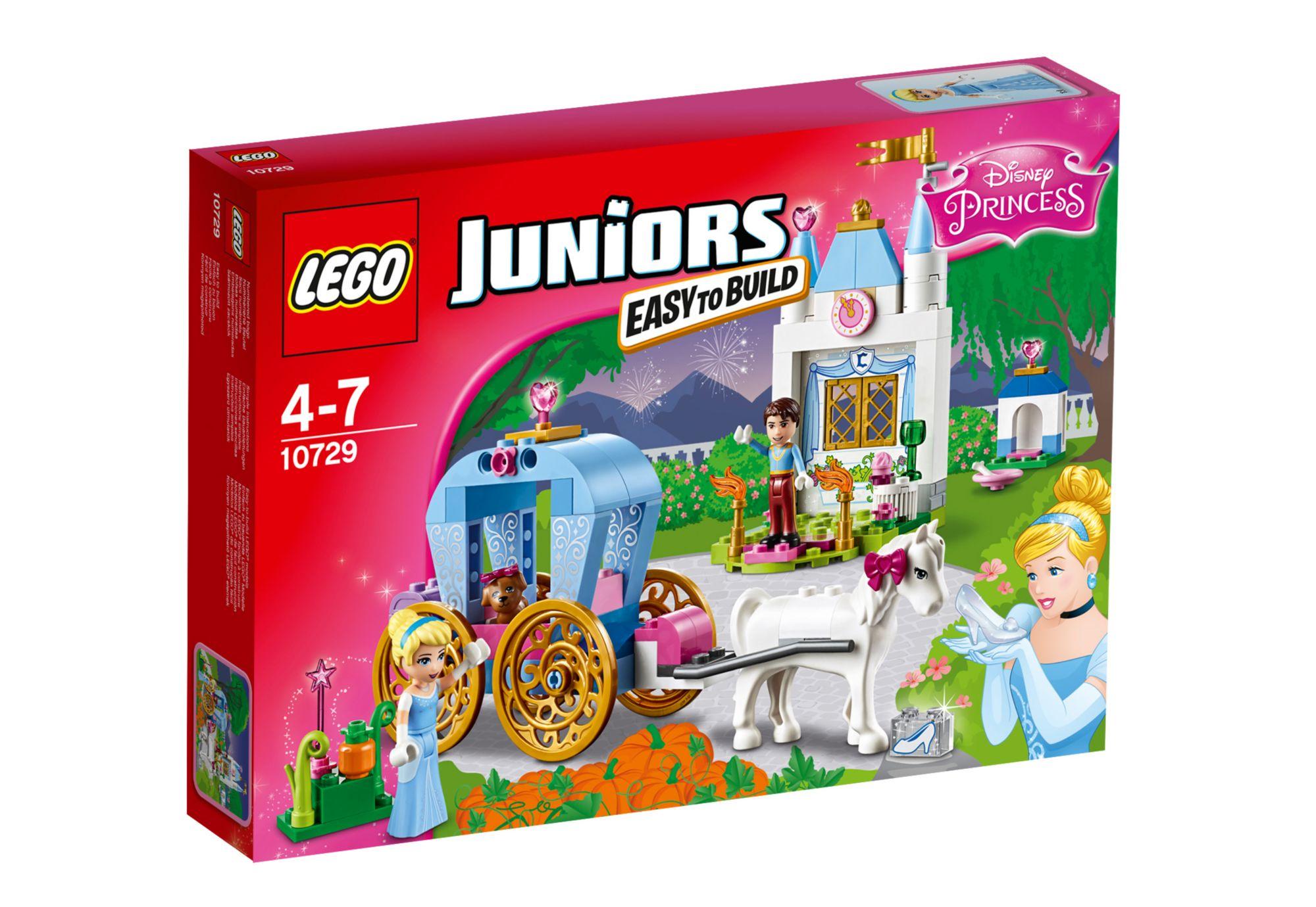 LEGO® 10729 Juniors Cinderellas Märchenkutsche, Konstruktionsspielzeug