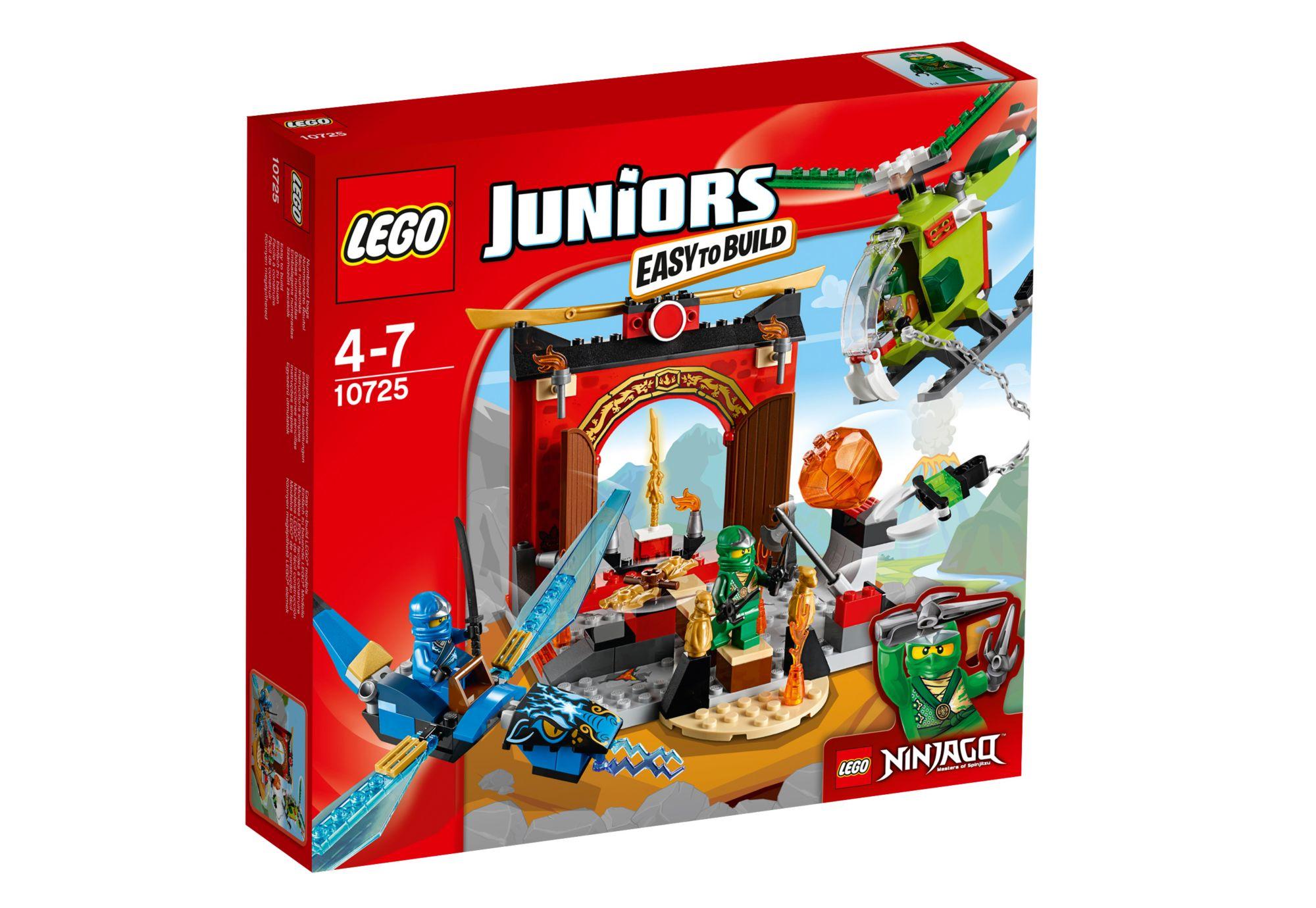 LEGO® 10725 Juniors Der verlorene Tempel, Konstruktionsspielzeug