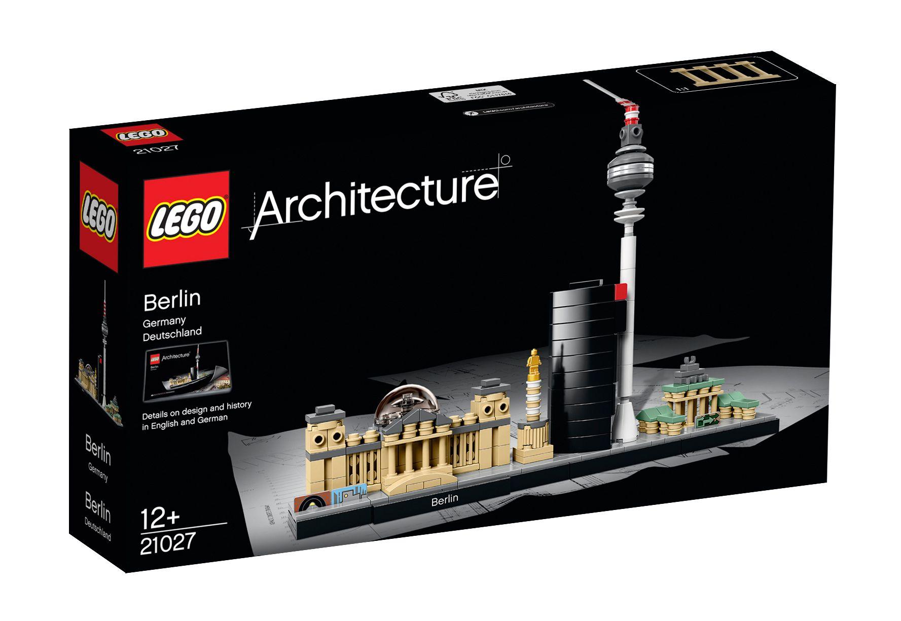 LEGO® 21027 Architecture Berlin, Konstruktionsspielzeug