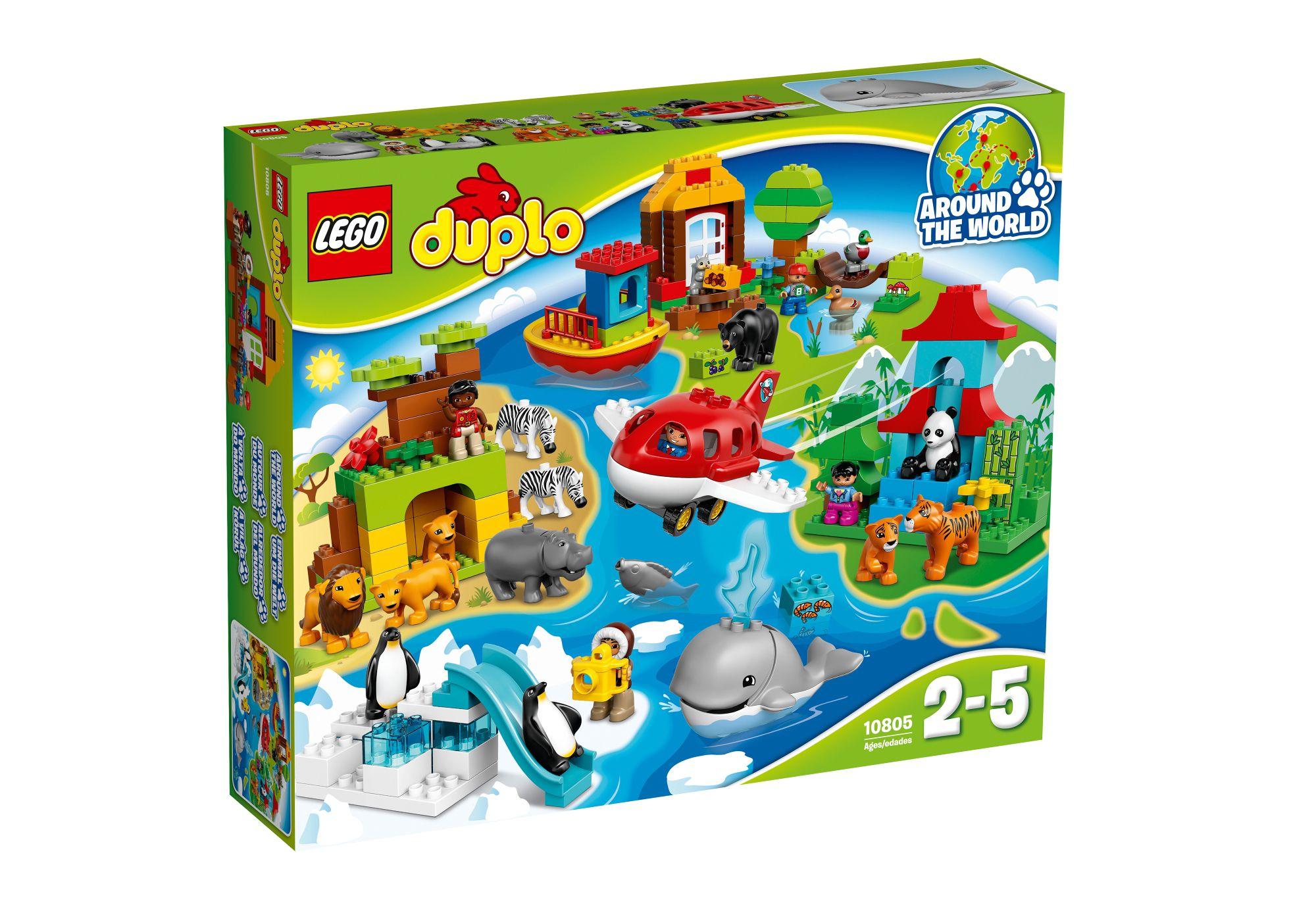 LEGO® 10805 DUPLO Einmal um die Welt, Konstruktionsspielzeug