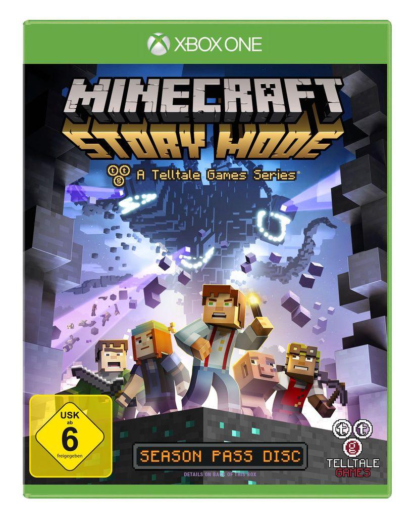 TELLTALE GAMES Telltale Games XBOX One - Spiel »Minecraft: Story Mode«