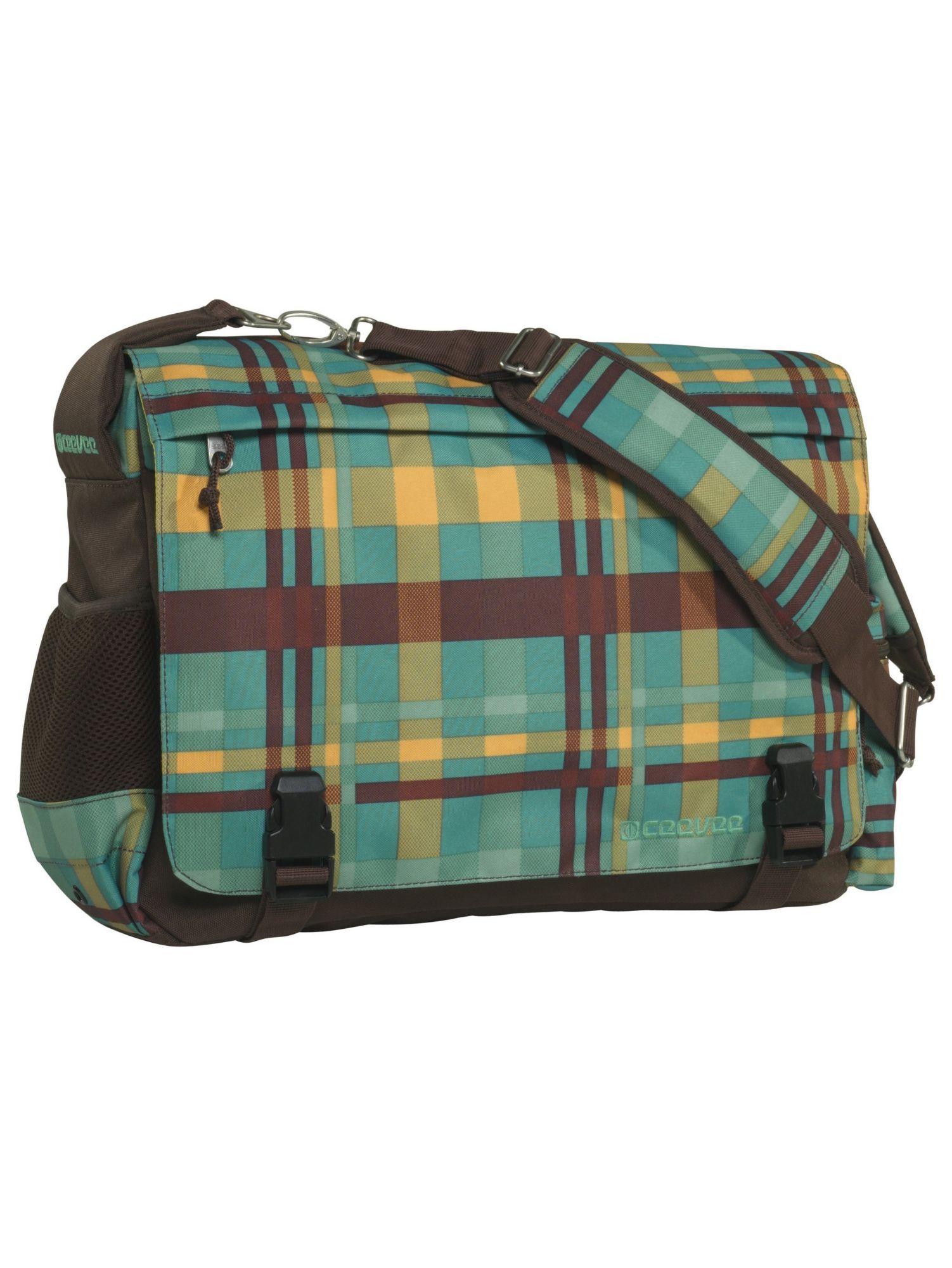 CEEVEE® ceevee® Messenger Bag, »Manchester caro petrol«
