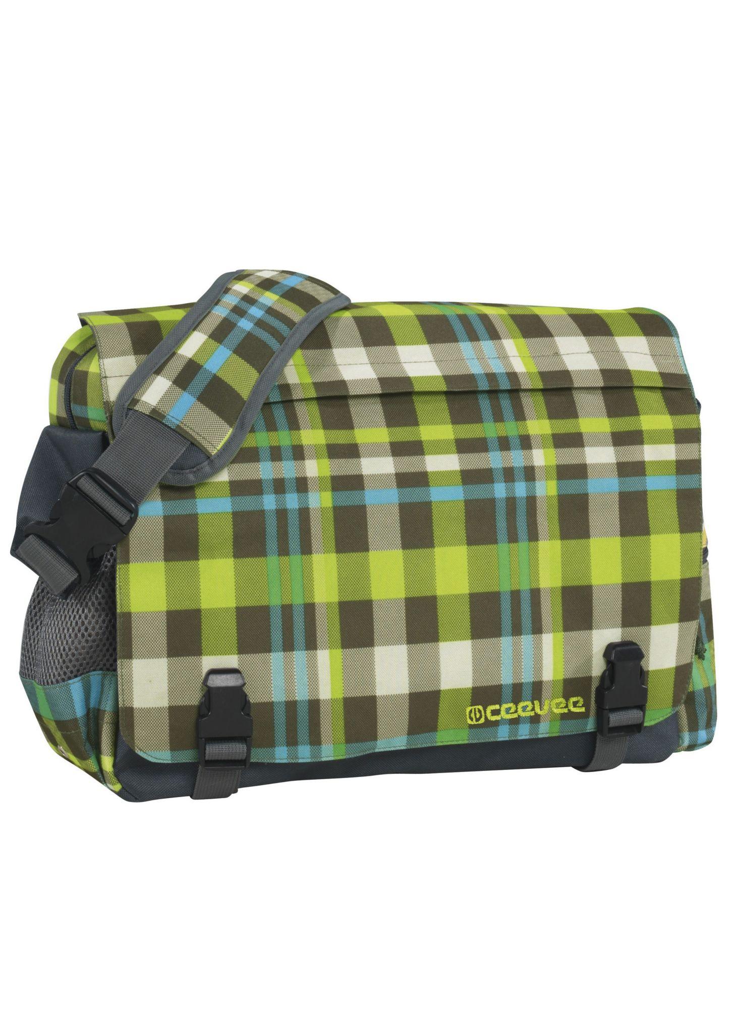 CEEVEE® ceevee® Messenger Bag, »Manchester caro green«