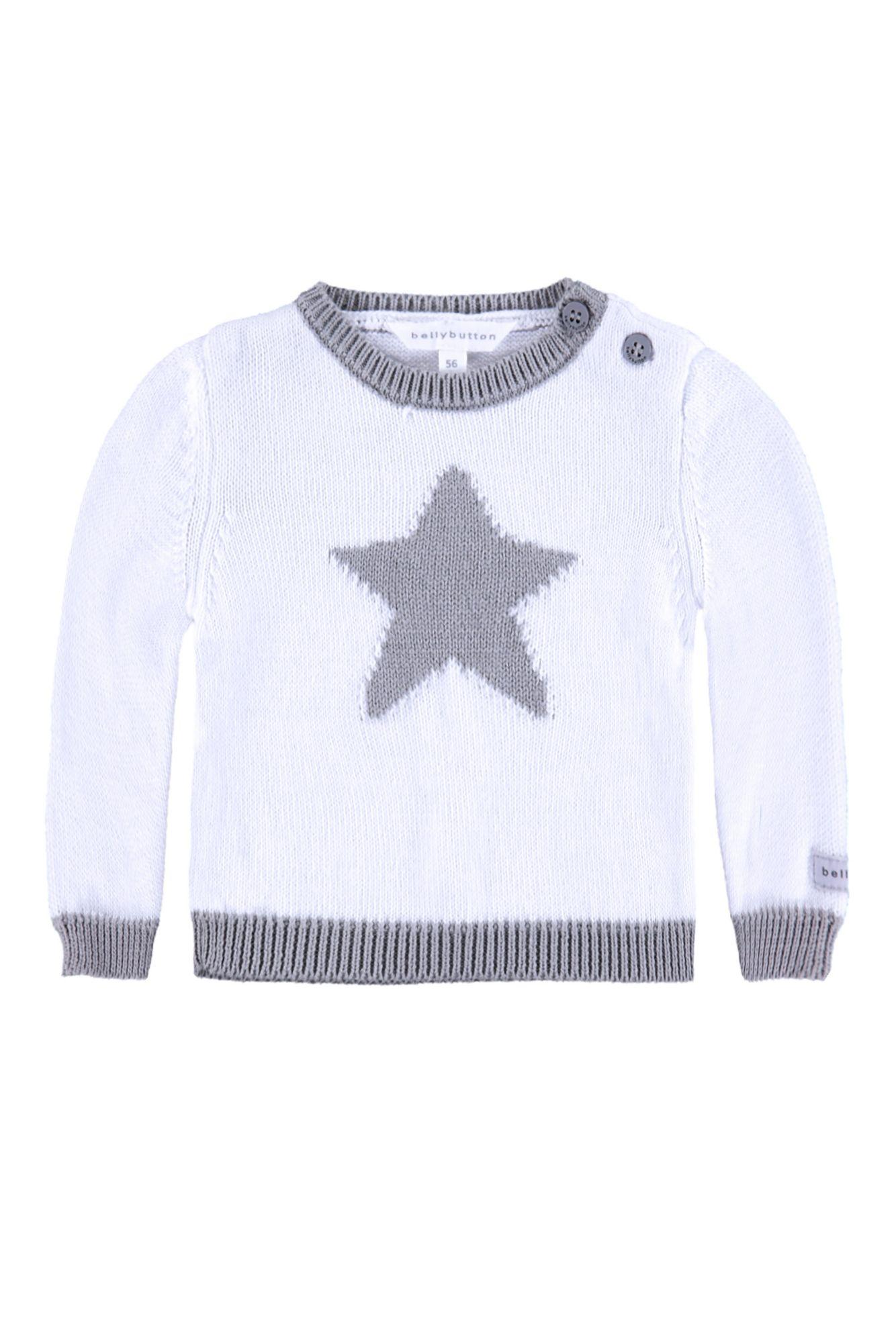 BELLYBUTTON  Baby Pullover »mit Stern«