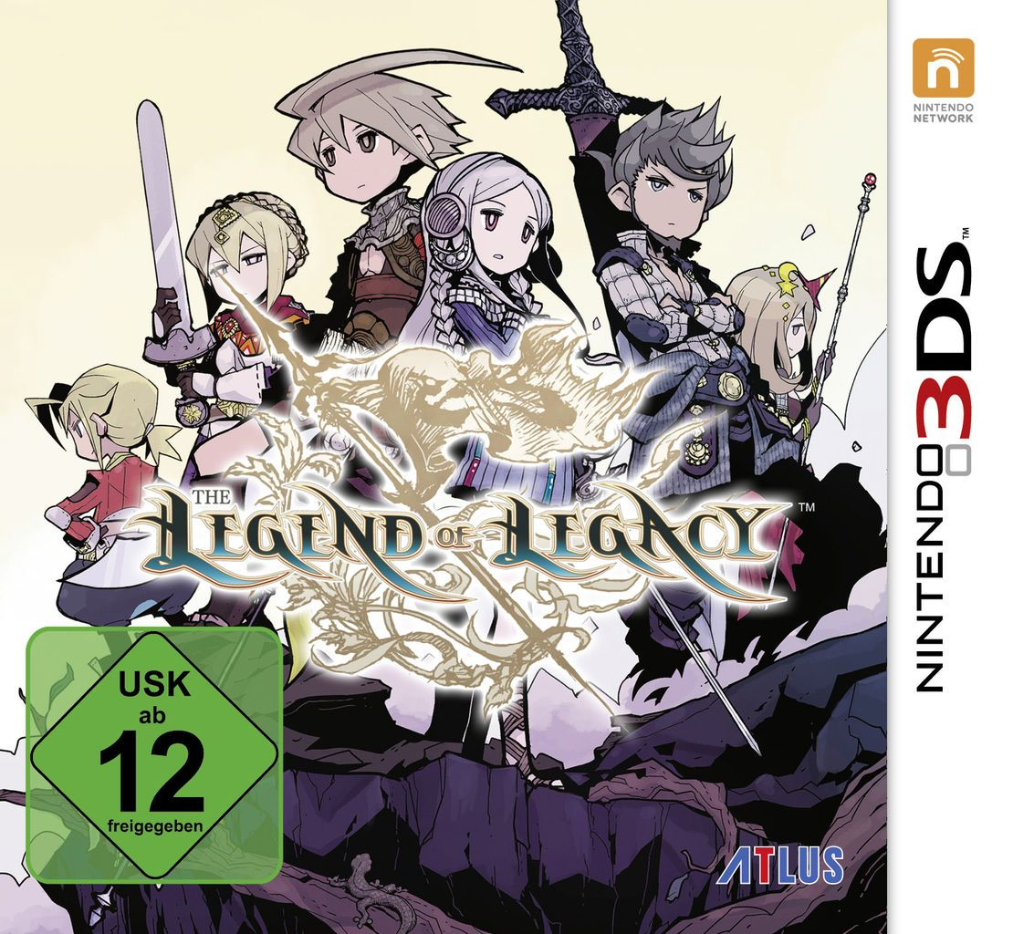 ATLUS Atlus Nintendo 3DS - Spiel »The Legend of Legacy«