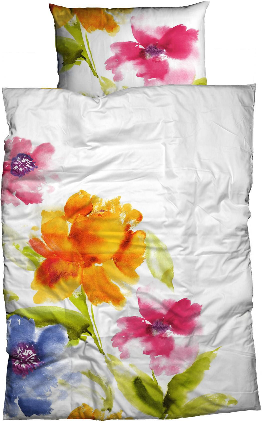 CASATEX Bettwäsche, Casatex, »Salina«, mit großen Blüten